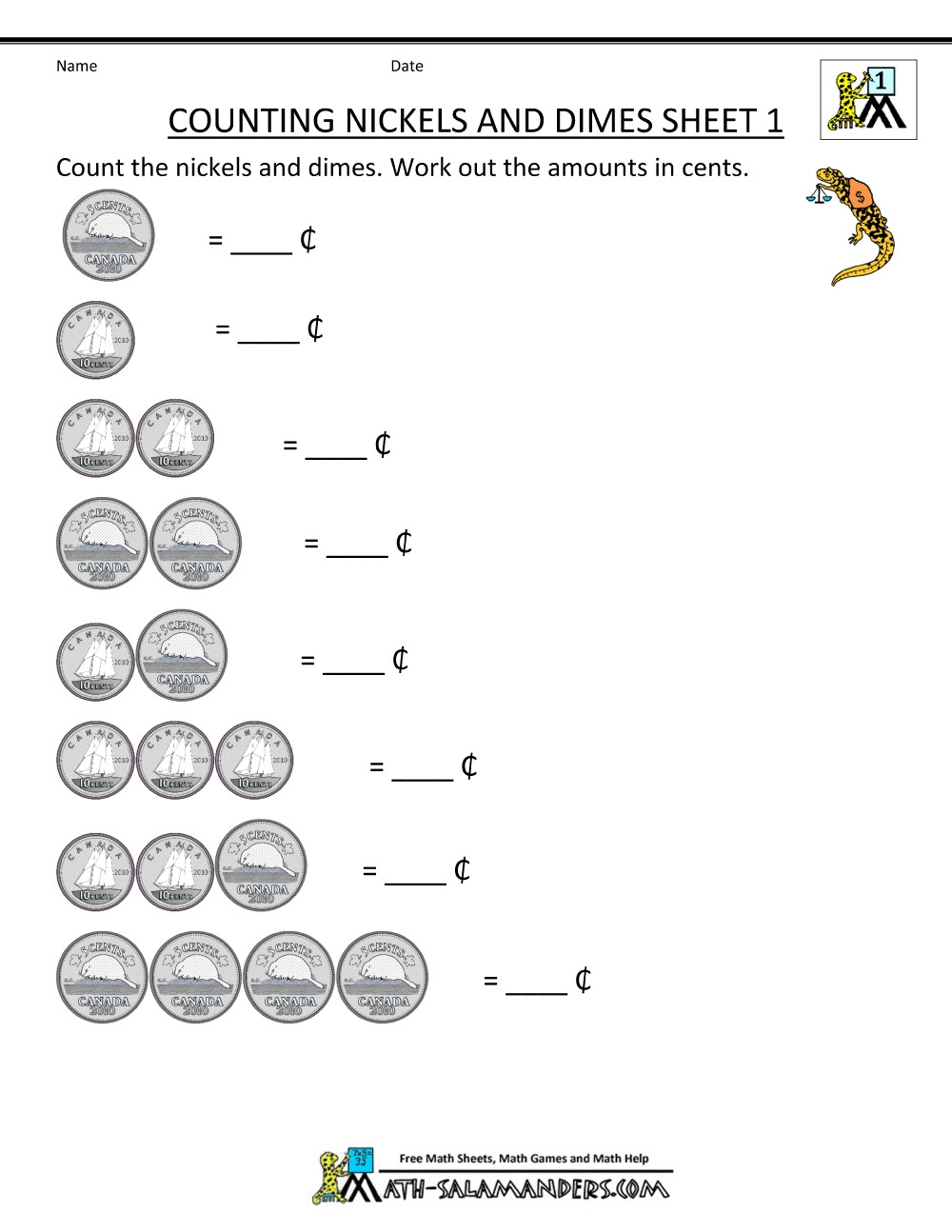 Coin Worksheets First Grade Adding and Subtracting Fractions Year 7 Grammar Worksheets