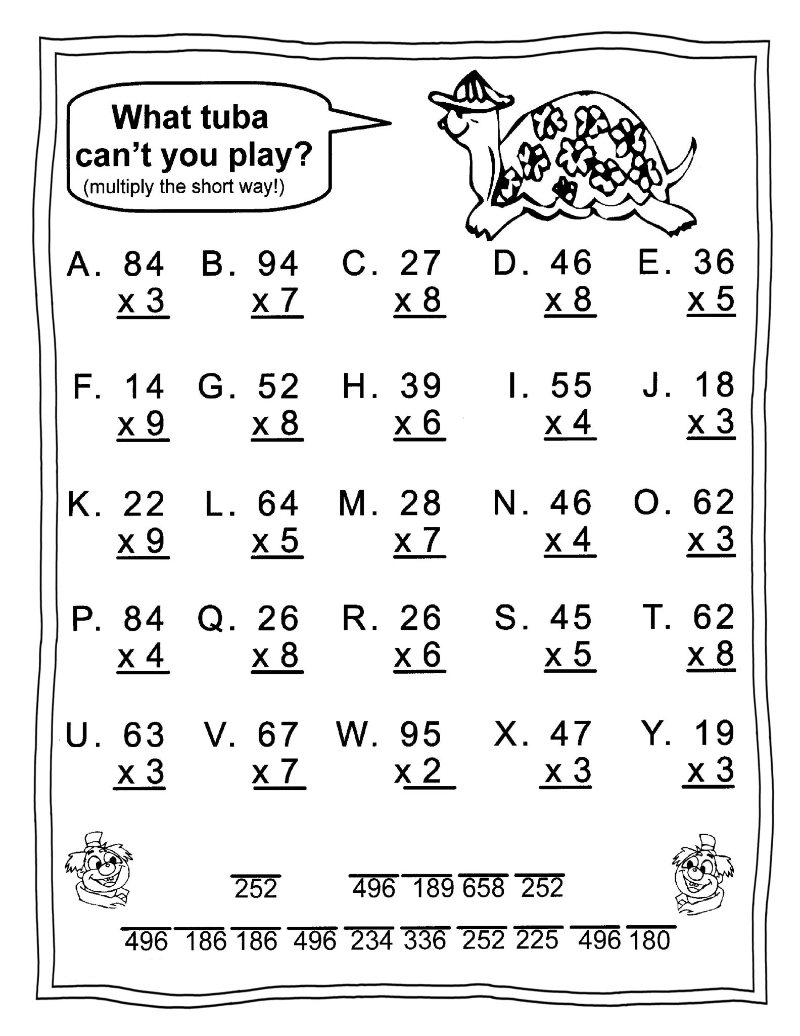 Coloring Pages for 3rd Graders Kingandsullivan Page 2 6th Class Maths Worksheets 5th Math