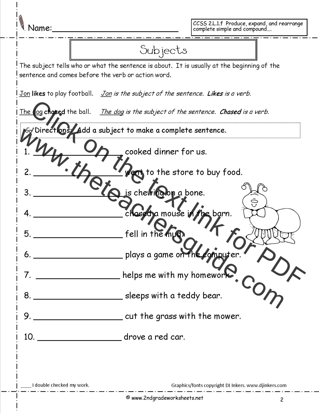 Combining Sentences Worksheets 5th Grade Joining Words Worksheet for Grade 2