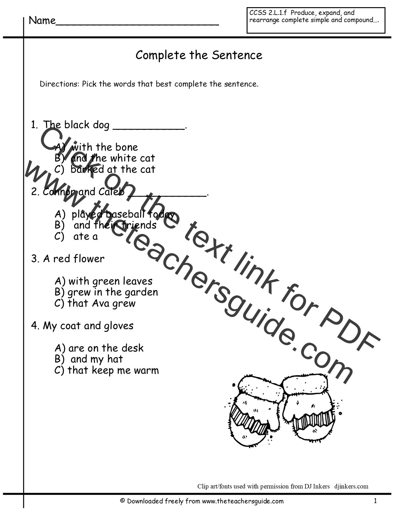 Complete Sentence Worksheet 3rd Grade 1st Grade Sentence Correction Worksheets
