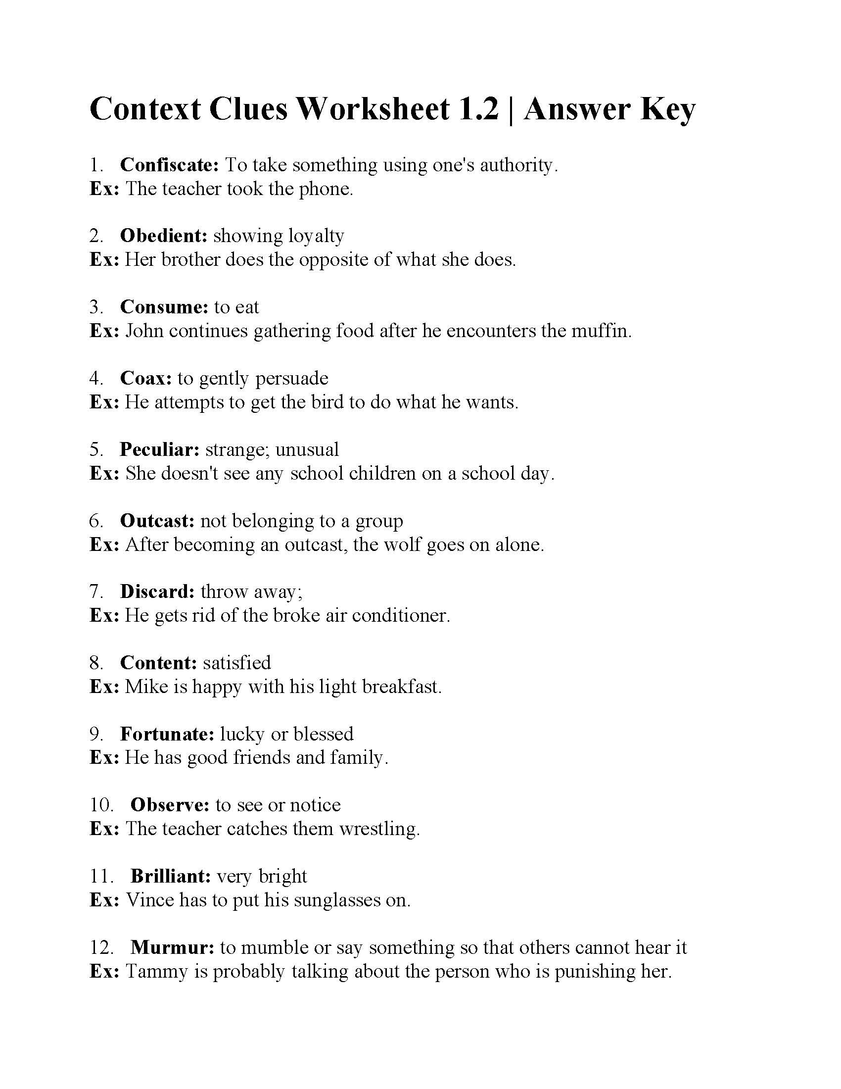 Context Clues Worksheets Second Grade Grade 7 Work Ancient Greek Maths Worksheets A and An