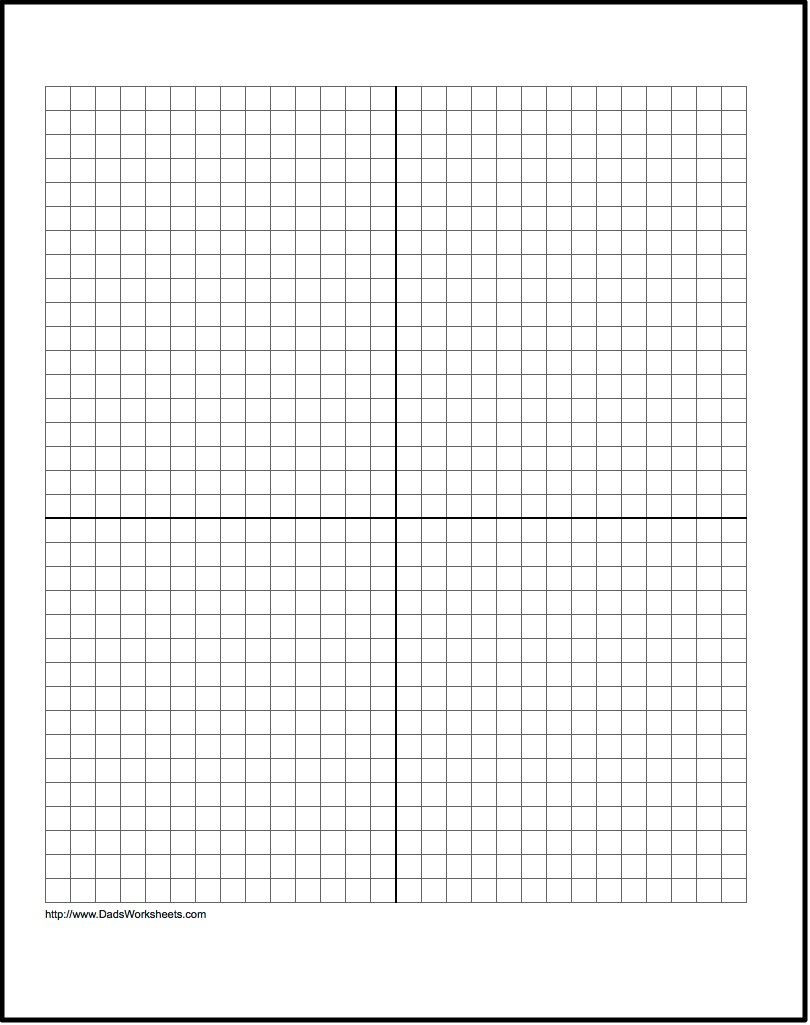 Coordinate Plane Worksheets Middle School Our Free Printable Graph Paper Contains Both Metric and