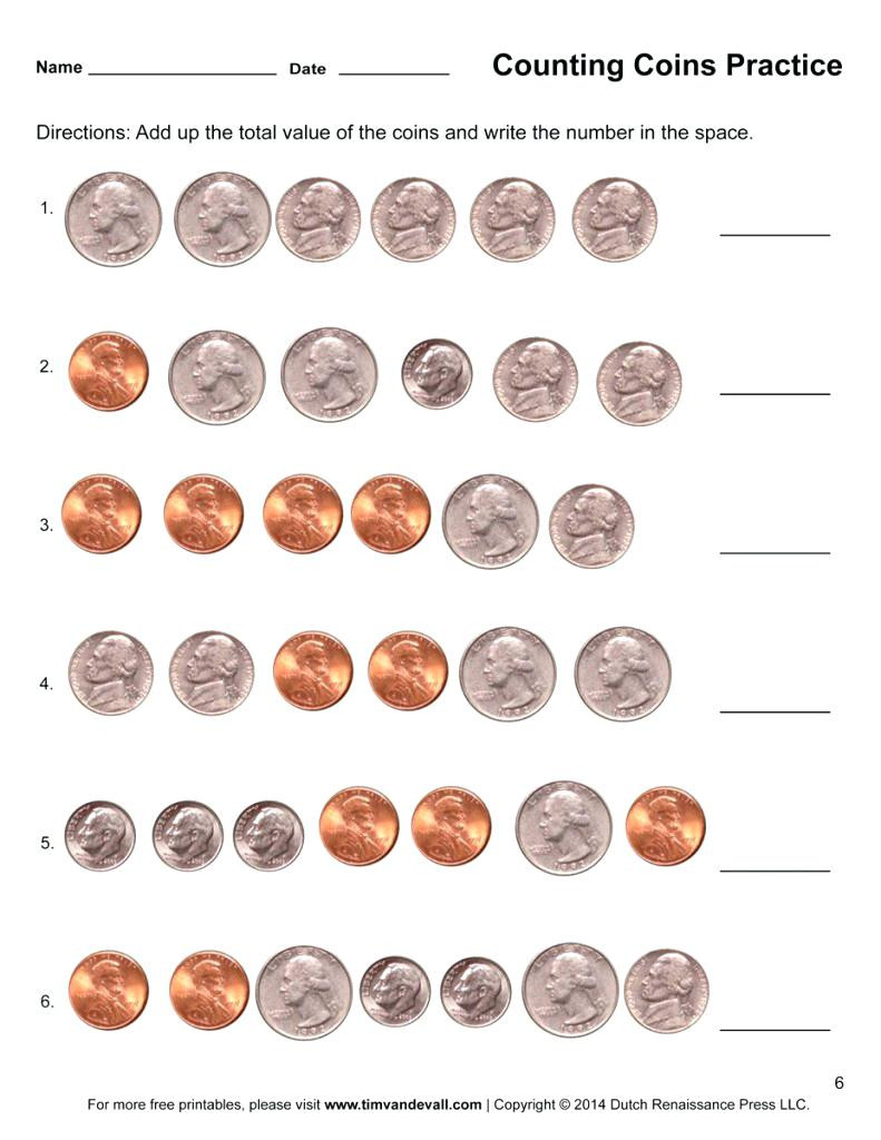 Counting Coins Worksheets 2nd Grade Counting Coins Worksheets 2nd Grade Counting Coins