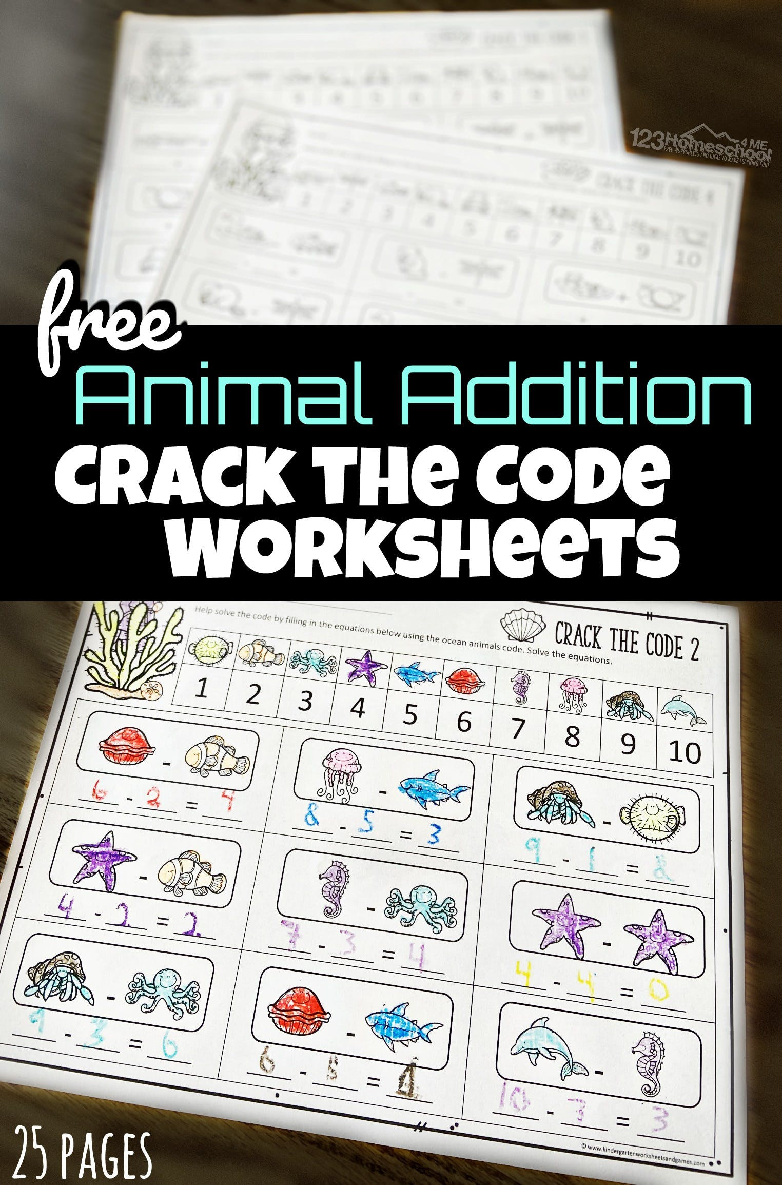 Crack the Code Math Worksheet Crack the Code Math Worksheets