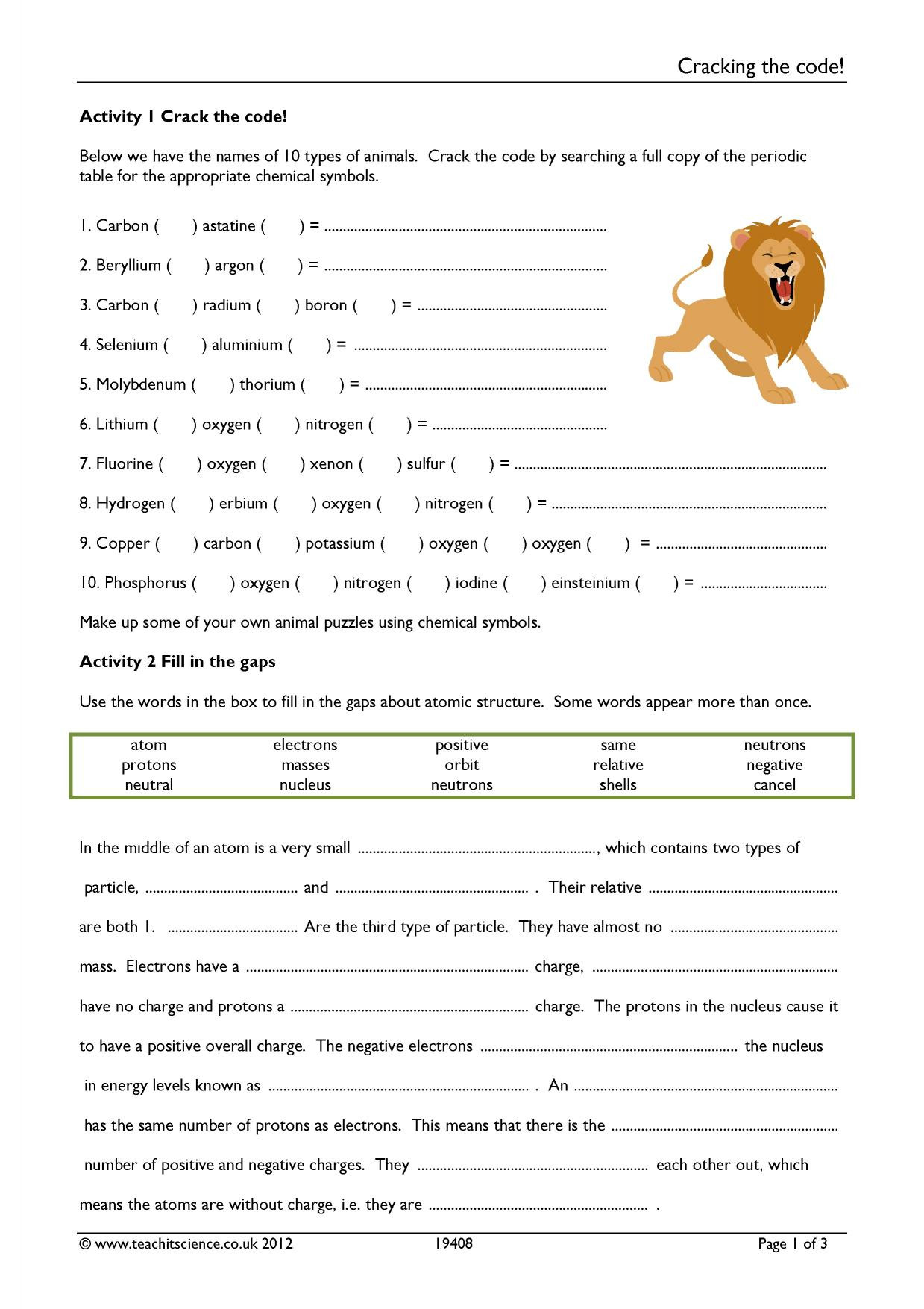 Crack the Code Math Worksheet Cracking the Code