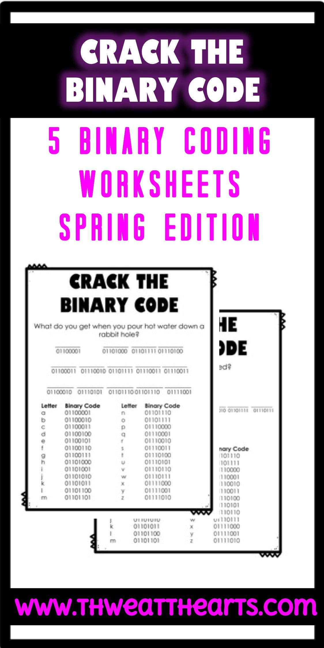Cracking the Code Math Worksheets Crack the Code Worksheets