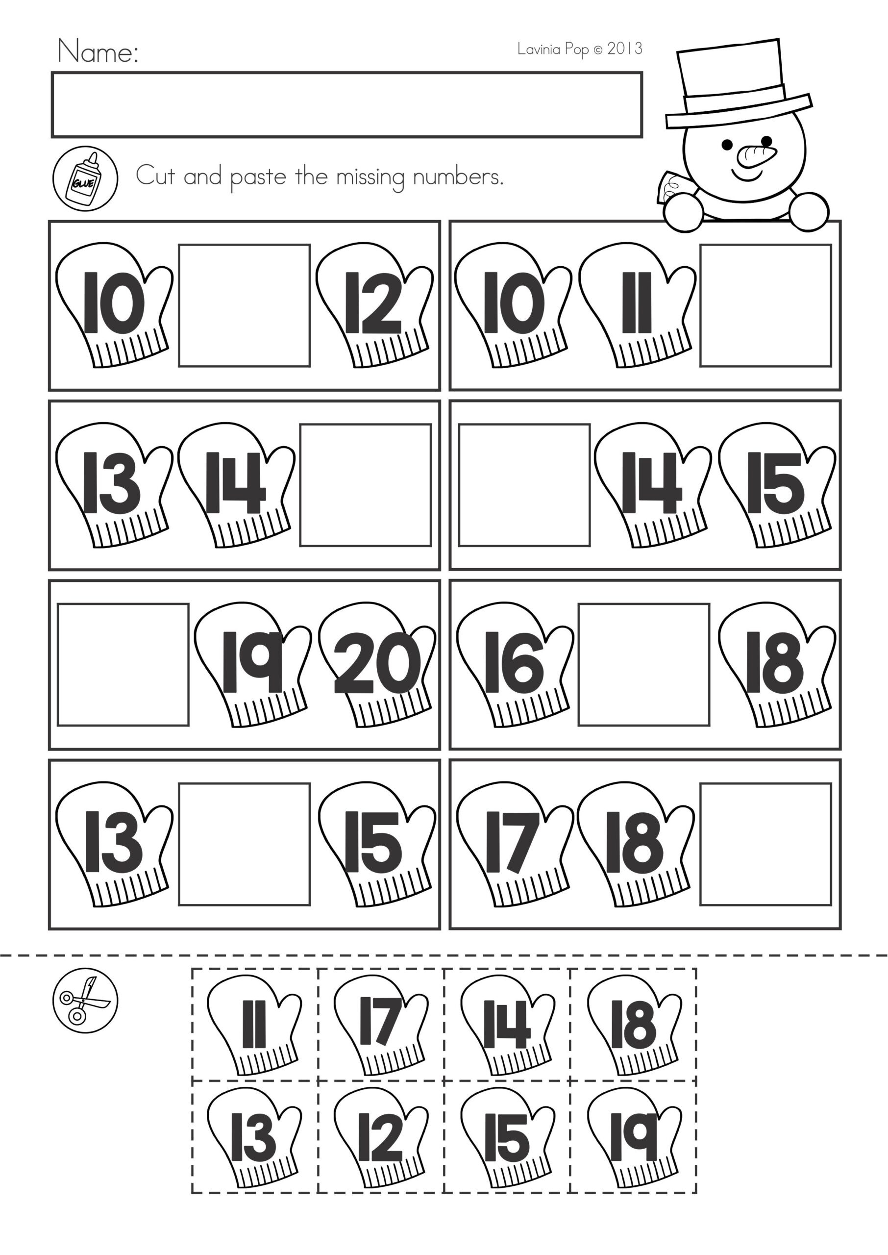 Cut and Paste Math Worksheets Algebra Questions and Answers Alphabet before and after
