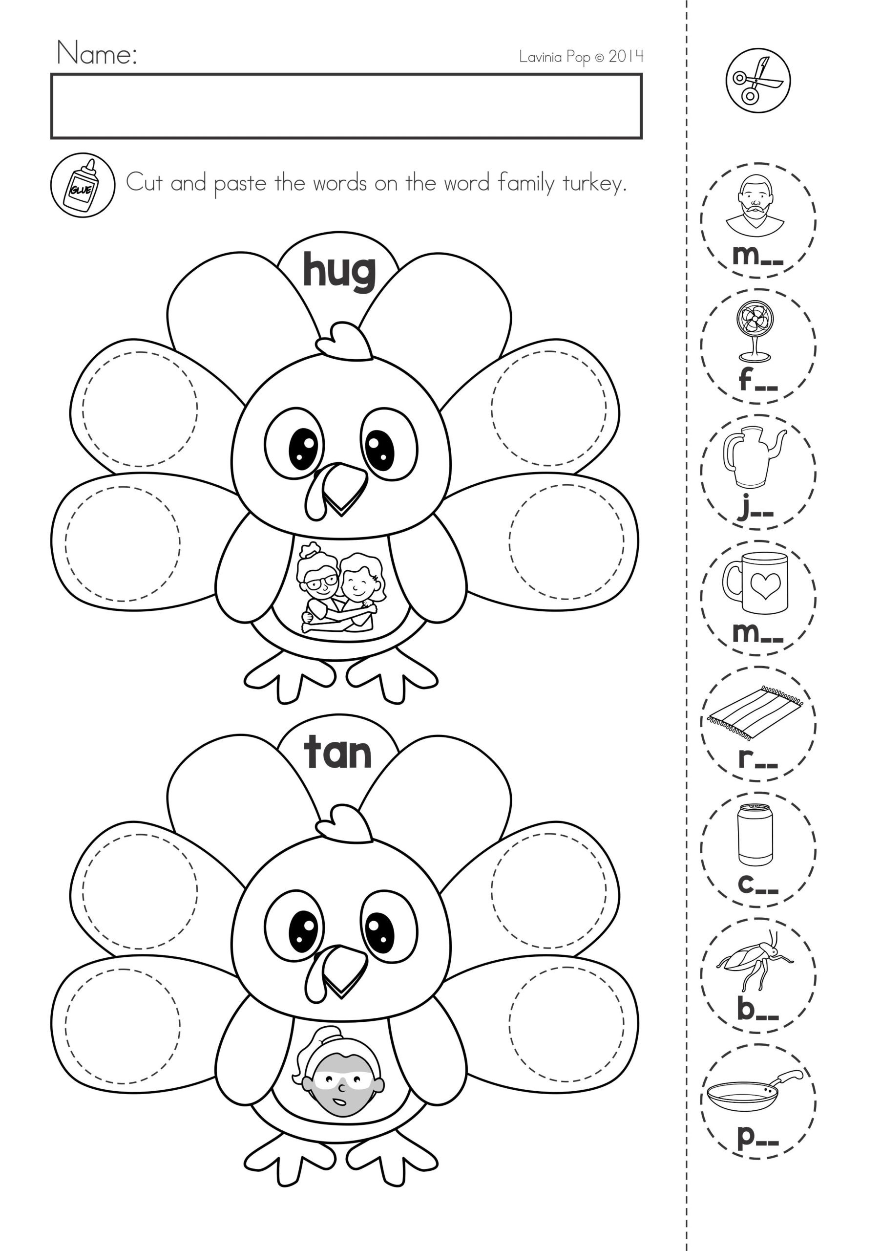 Cut and Paste Math Worksheets Fraction Worksheet Printable Cut and Paste Worksheets