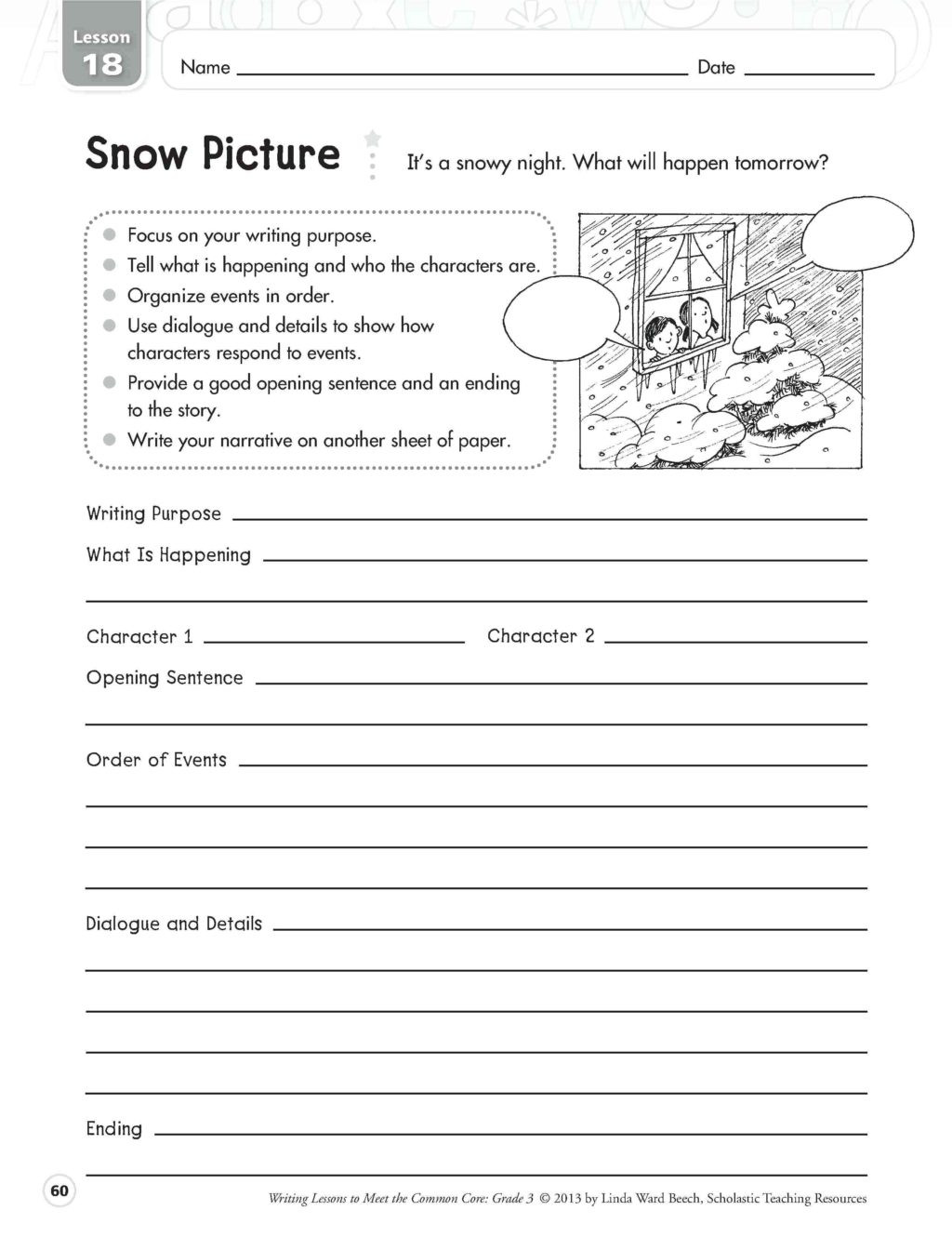 Dialogue Worksheets 4th Grade Worksheet Writing Practice for 4th Grade Best Ideas