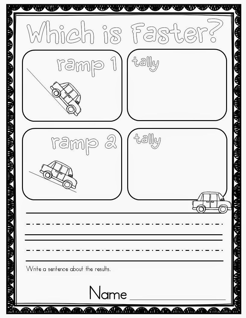 Force and Motion Printable Worksheets who S who and who S New force and Motion Experiments