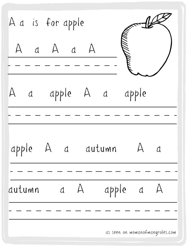 Free Printable Apple Worksheets Worksheet Free Printable Handwriting Practice Sheets Paper