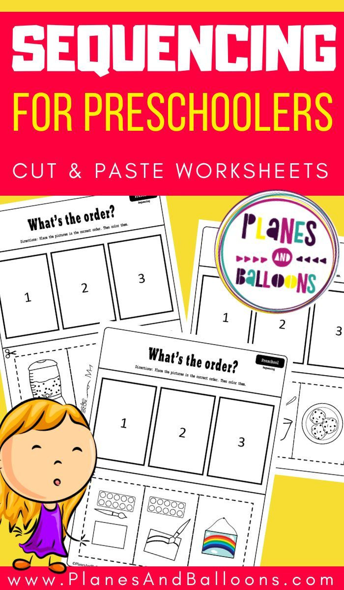 Free Printable Sequencing Worksheets Pin On Preschool