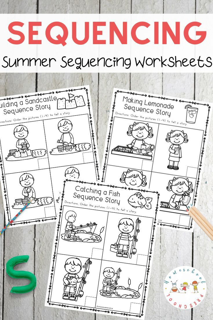Free Printable Story Sequencing Worksheets A Growing Collection Of Sequencing Cards and Activities for