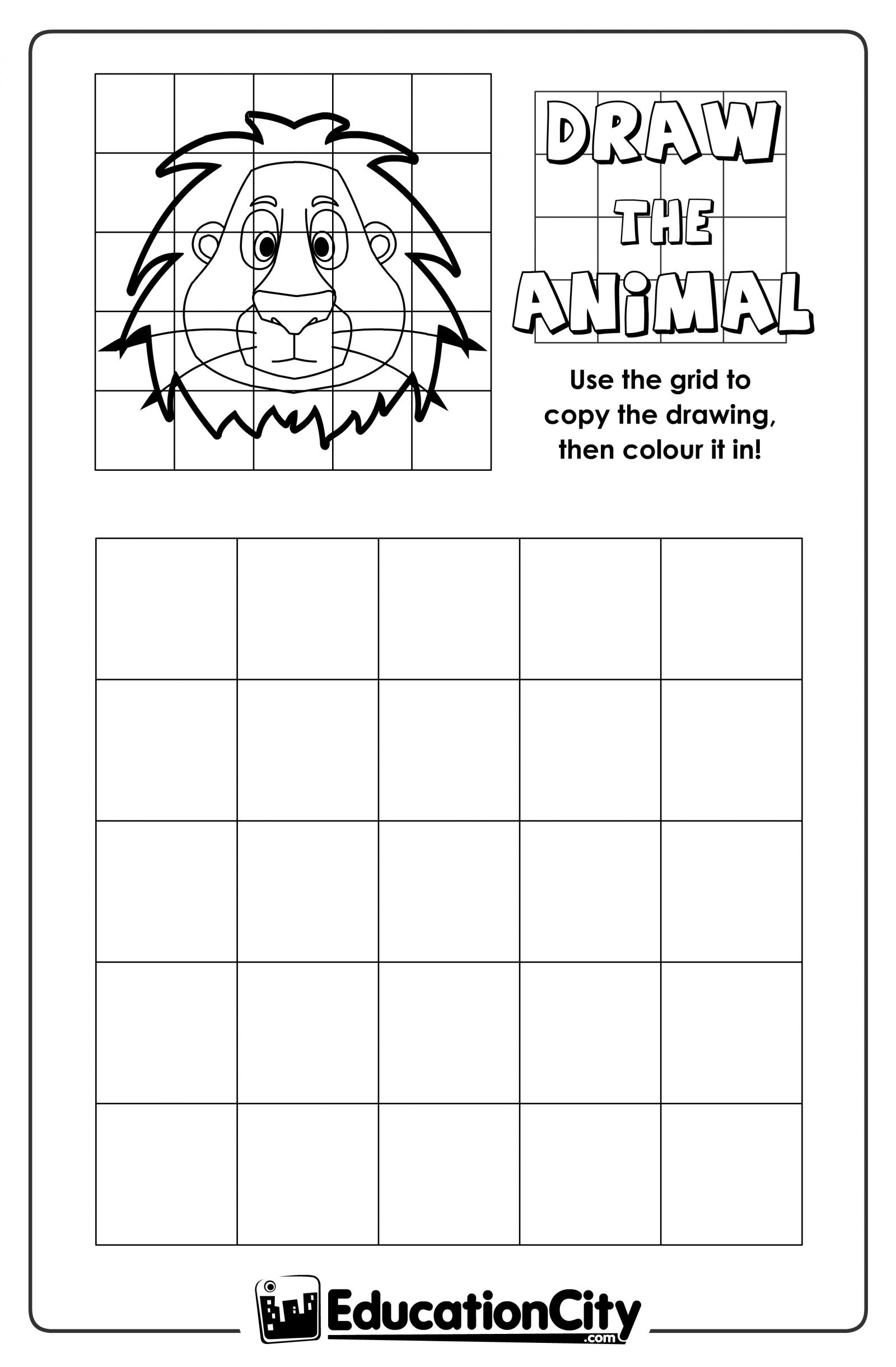 Grid Drawing Worksheets Middle School Free Dot Grid Drawing Worksheets