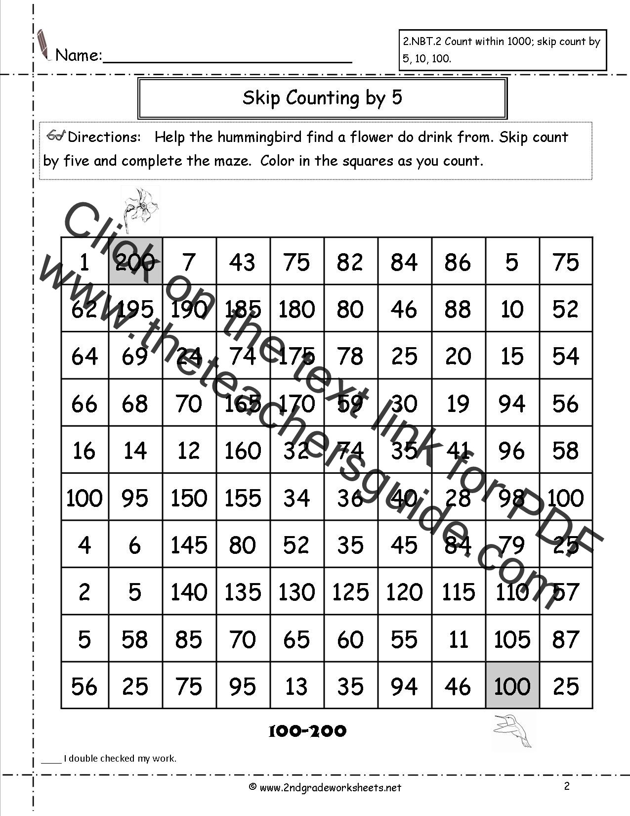 Kitchen Math Measuring Worksheet Free Skip Counting Worksheets Math