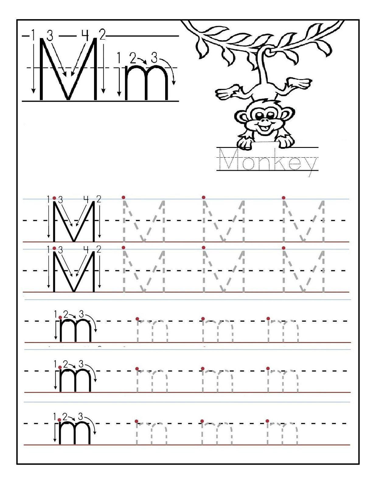 Letter N Worksheets for Preschool 2 Preschool Letter N Tracing Worksheets In 2020