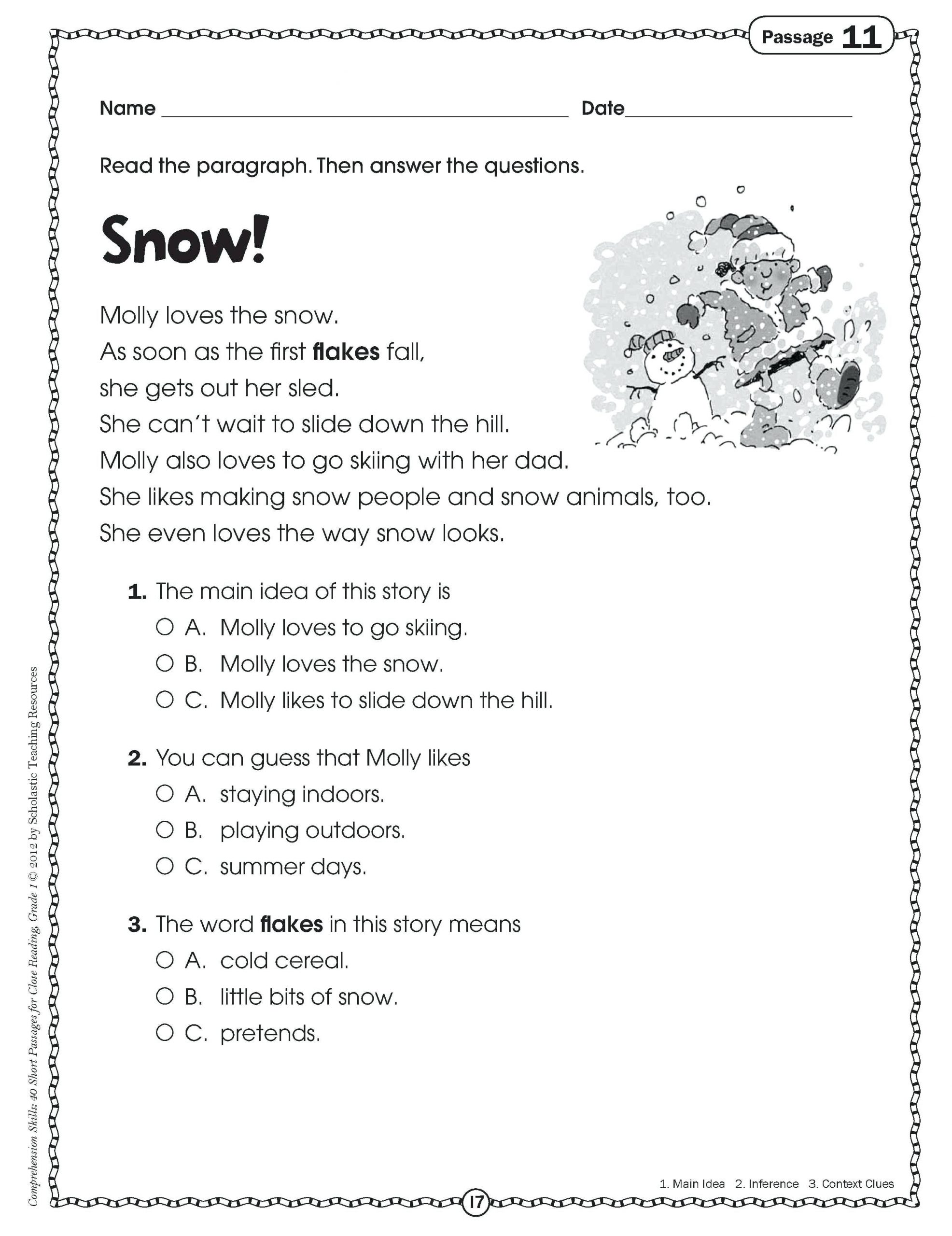 Main Idea Worksheets High School Main Idea Worksheets 4th Grade to Printable Math Worksheet