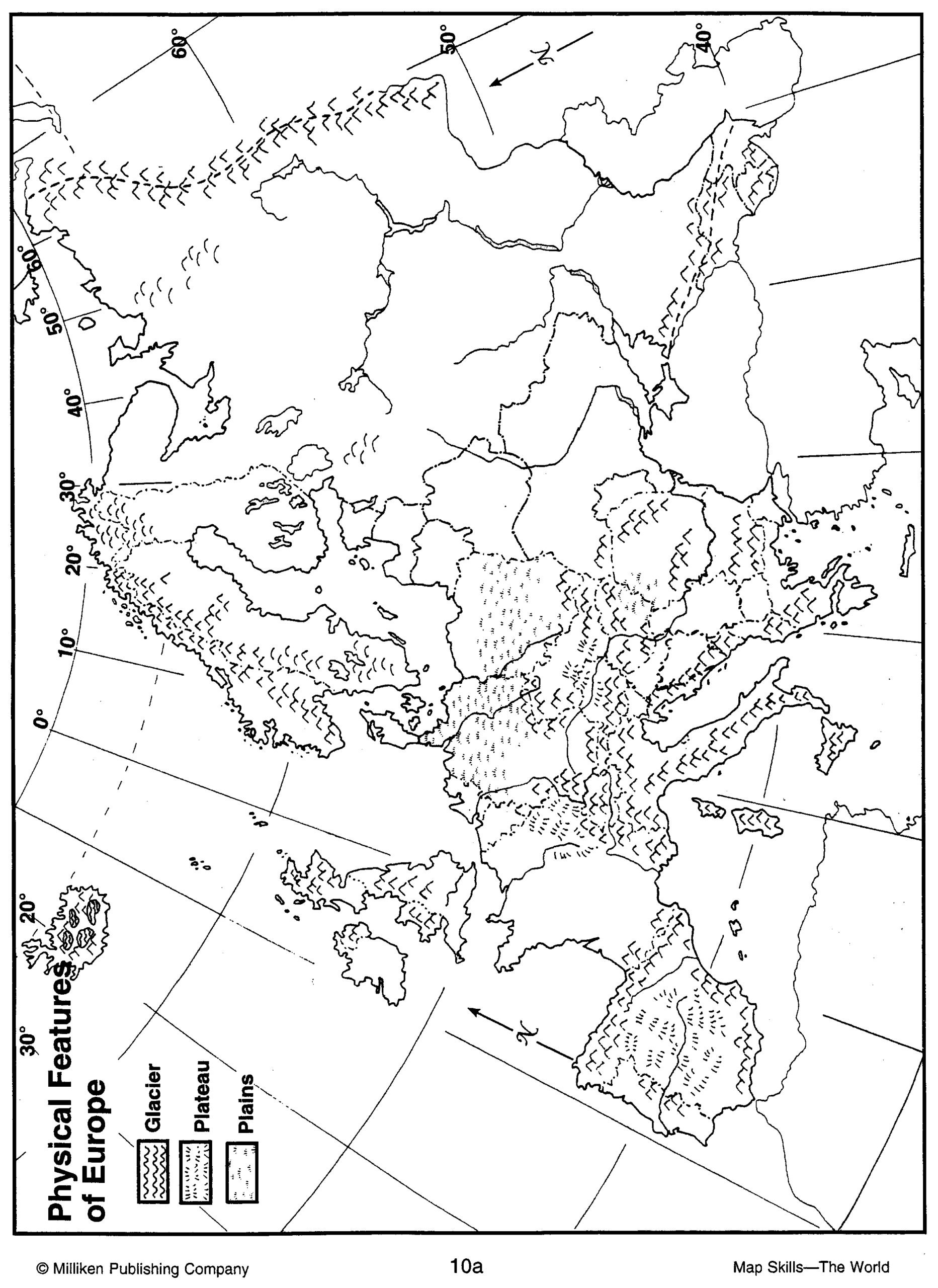 Map Skills Worksheets Middle School Us Geography Worksheet Printable Worksheets and Activities