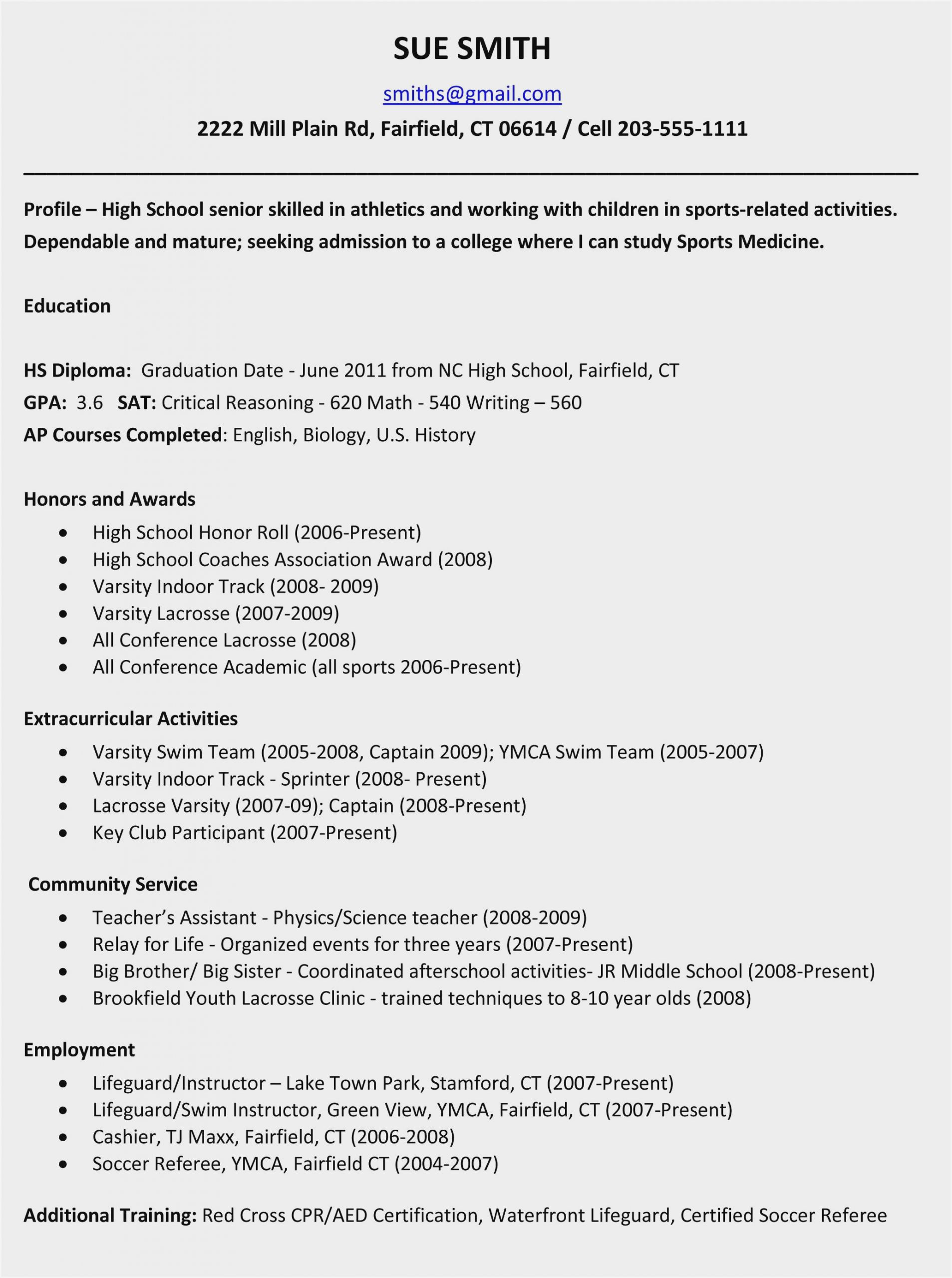 Middle School Resume Worksheet Resume Building for High School Students Resume Resume