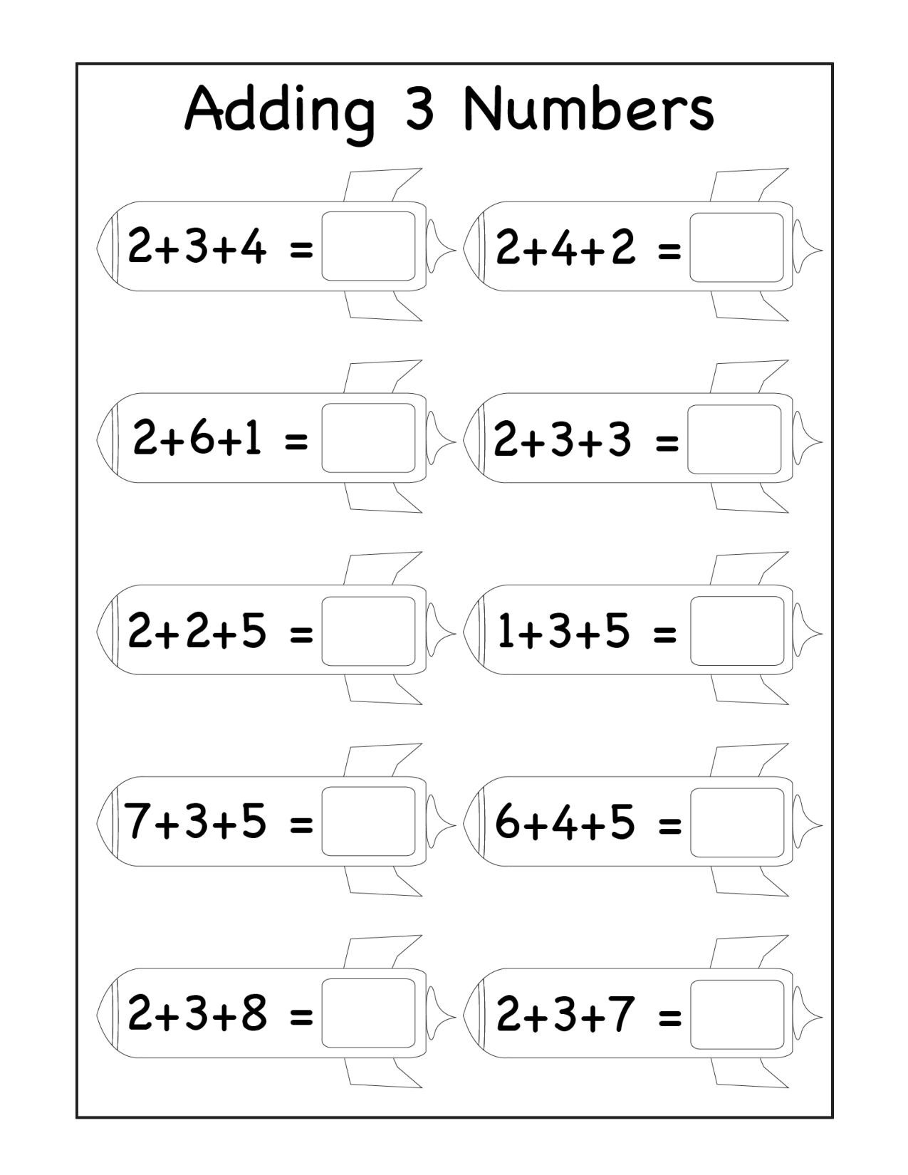Missing Addend Worksheets First Grade 1st Grade Archives Page 4 Of 13