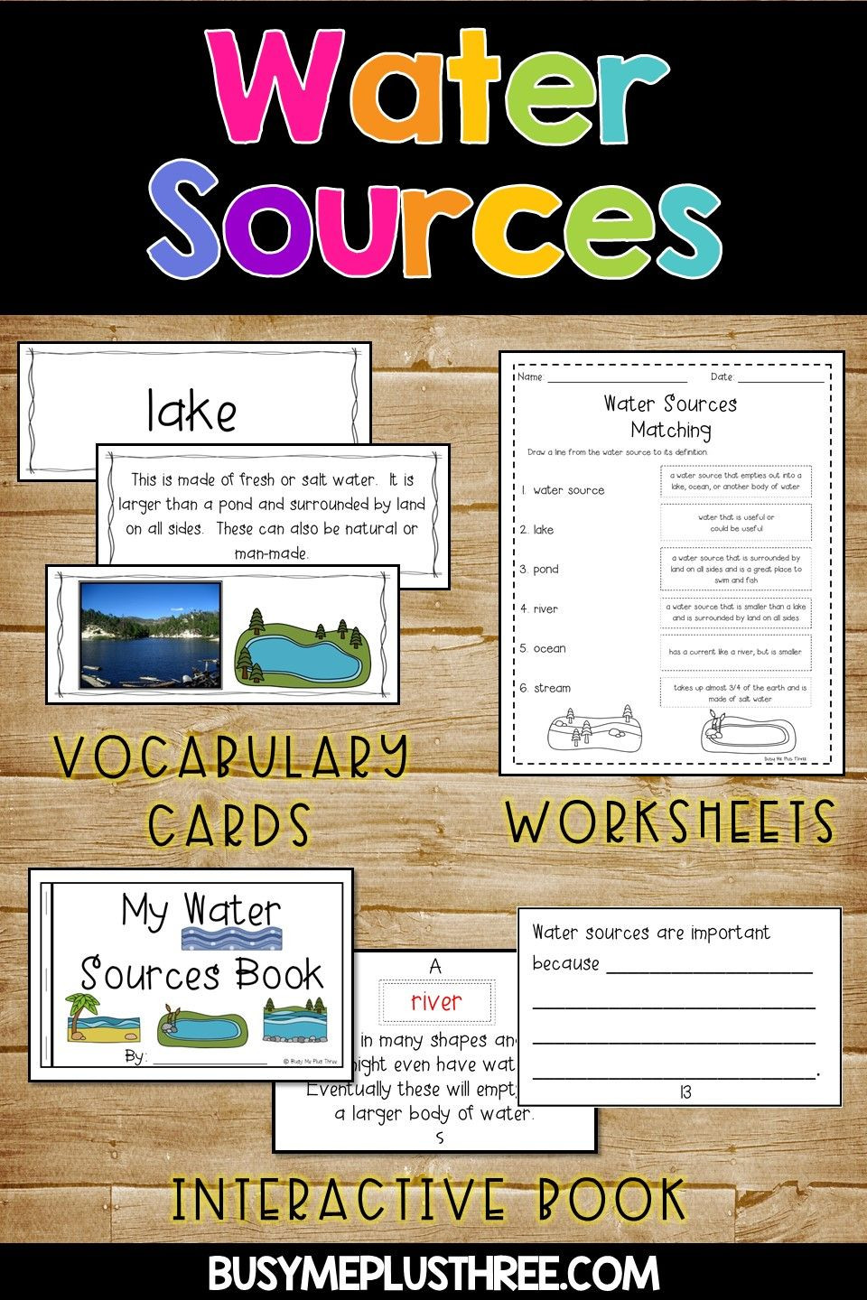Ocean Worksheets for 2nd Grade All About Water sources