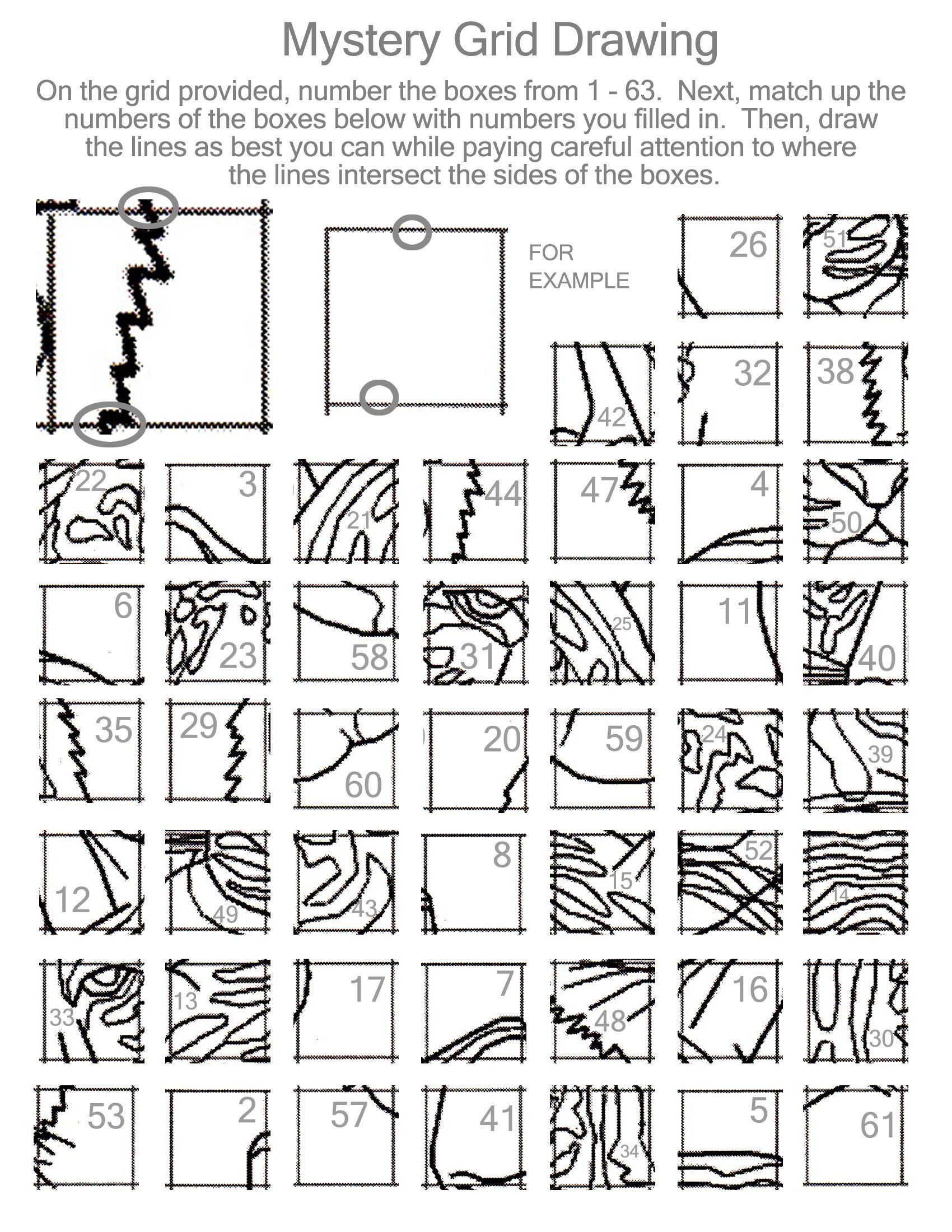 Optical Illusion Worksheets Printable 11 Best Drawing Grid Art Worksheets Printable Images On Best