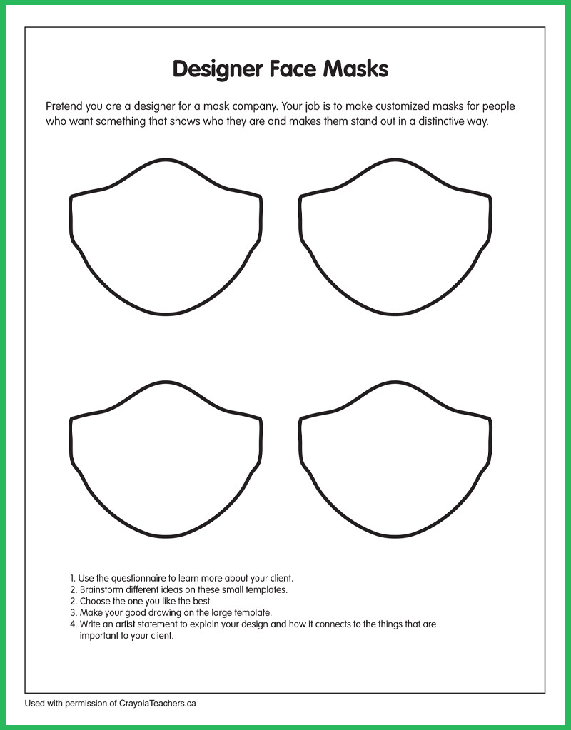Optical Illusion Worksheets Printable Art Worksheets Crayola Teachers