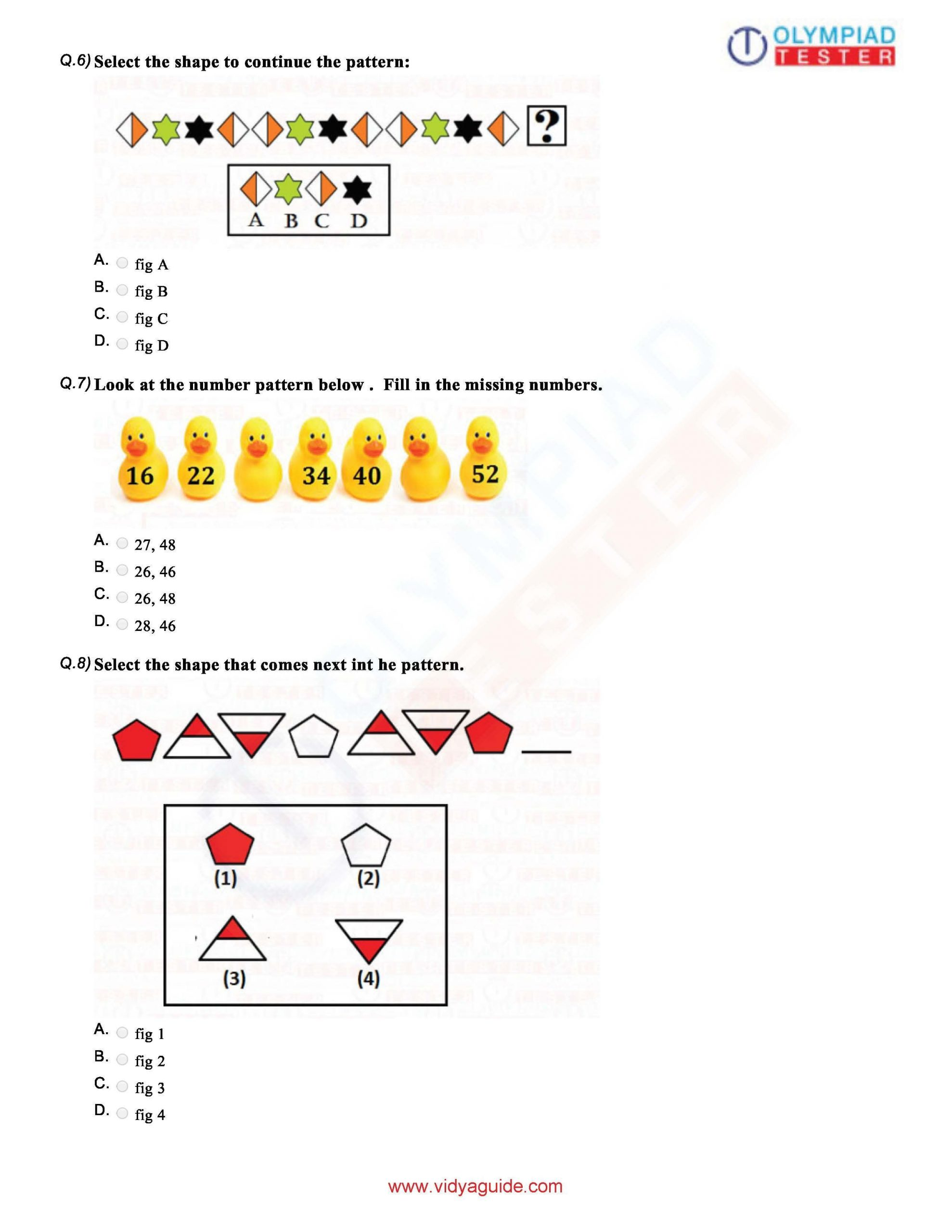 Perimeter Worksheets 3rd Grade Pdf Download Grade 1 Maths Olympiad Sample Papers as Pdf