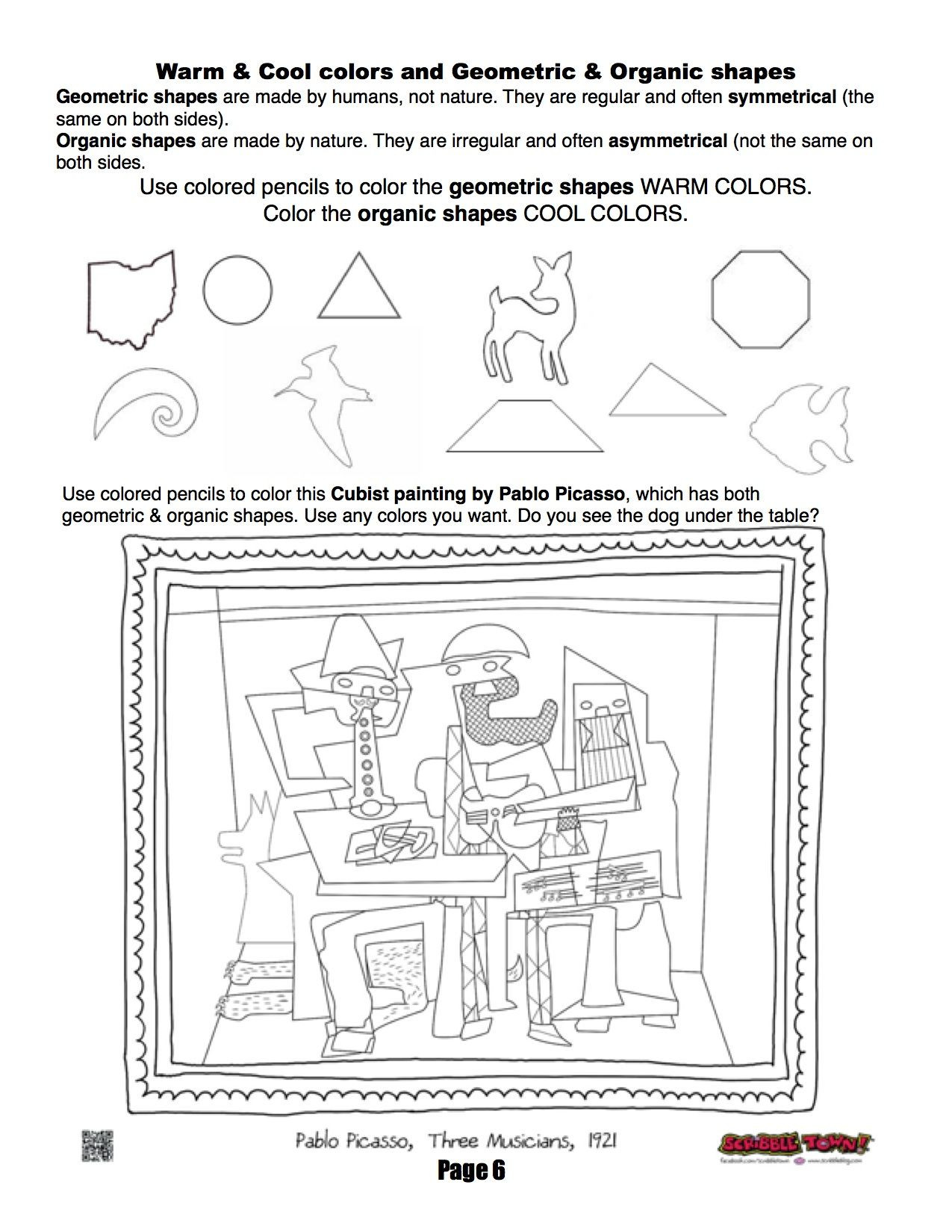 Polygon Worksheets 4th Grade Ms Mo S Art Room 4th Grade Workbook Page About organic and