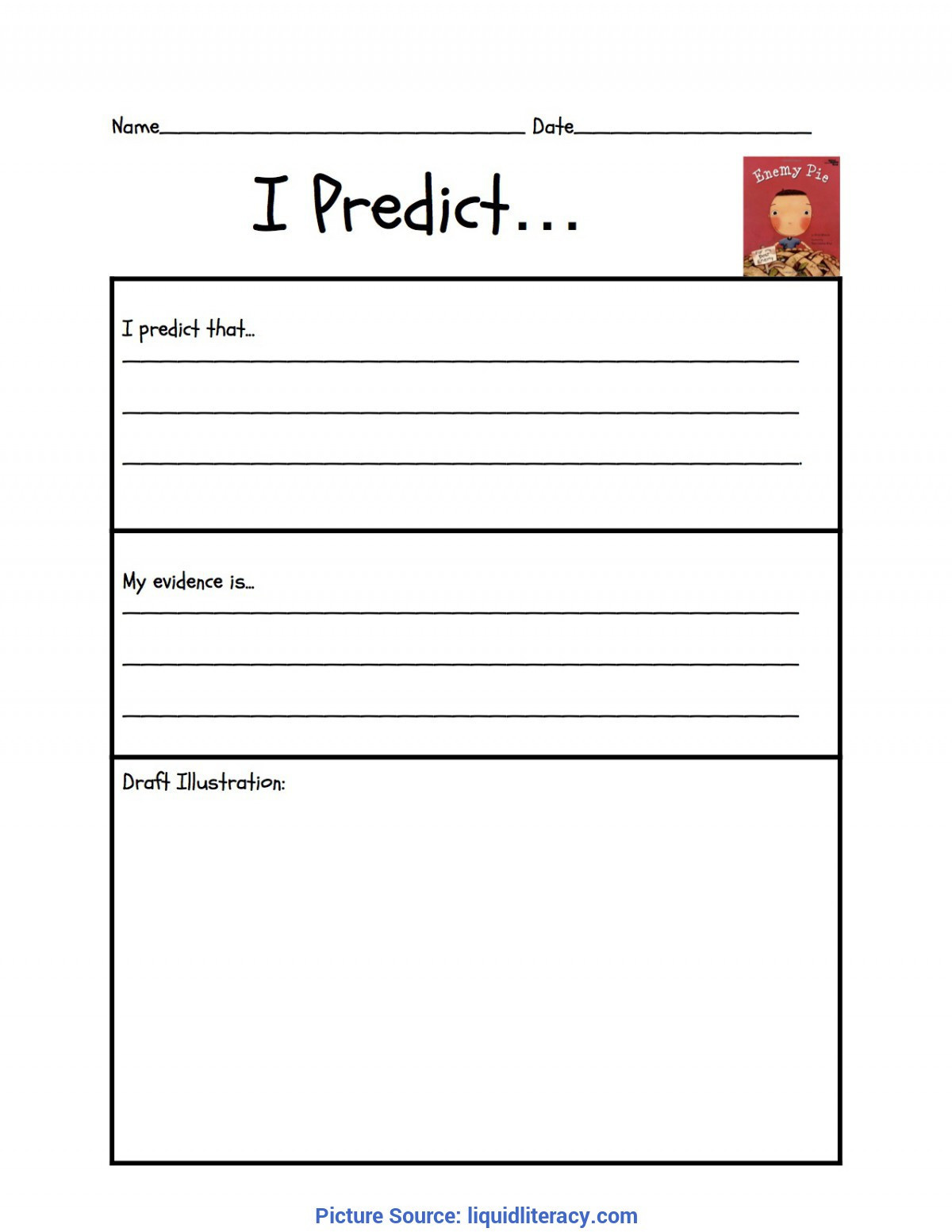 Prediction Worksheets 2nd Grade Workshop Classroom Making Inferences Mini Lessons