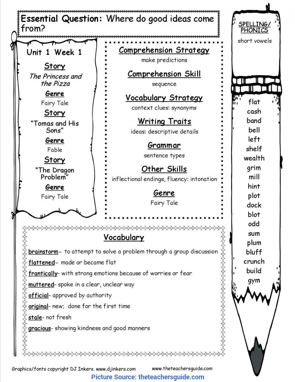 Prediction Worksheets for 2nd Grade Worksheet Unusual Reading Wonders Lesson Plans Mcgraw Hill
