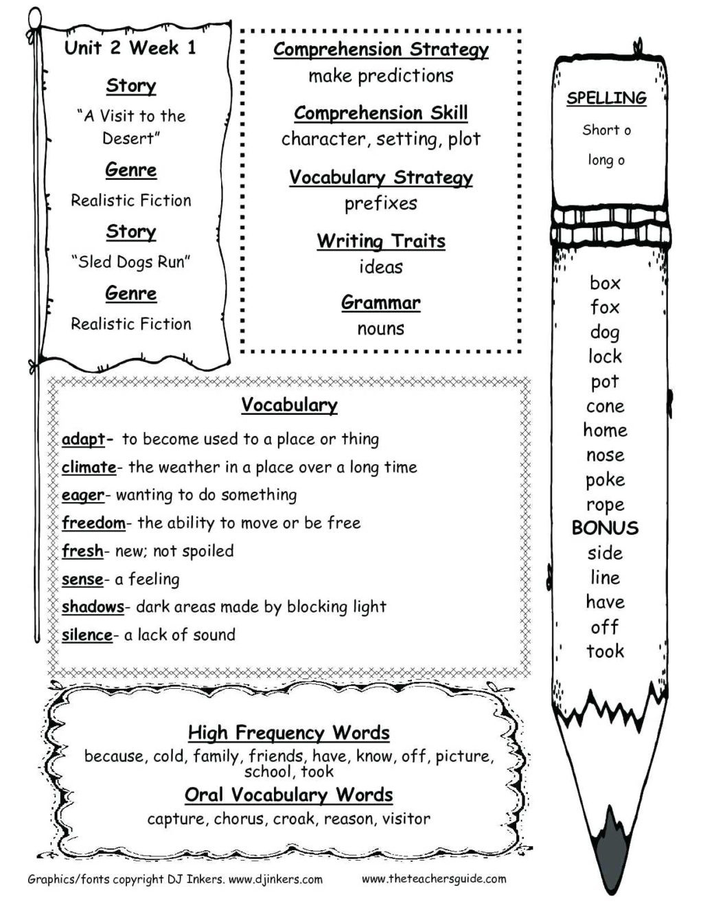 Prediction Worksheets for 3rd Grade Worksheet Vocabulary for 2nd Grade Barka