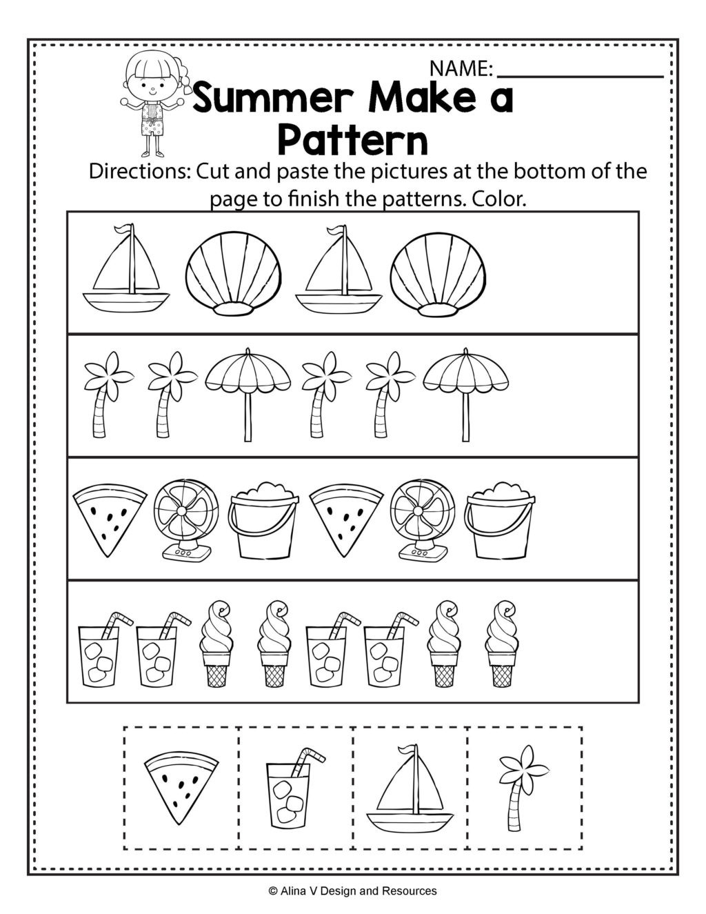 Preschool Bug Worksheets Worksheet Science Worksheet Preschool to Learning