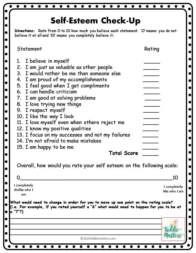 Printable Self Esteem Worksheets This Small Group Counseling Resource Contains Self Esteem