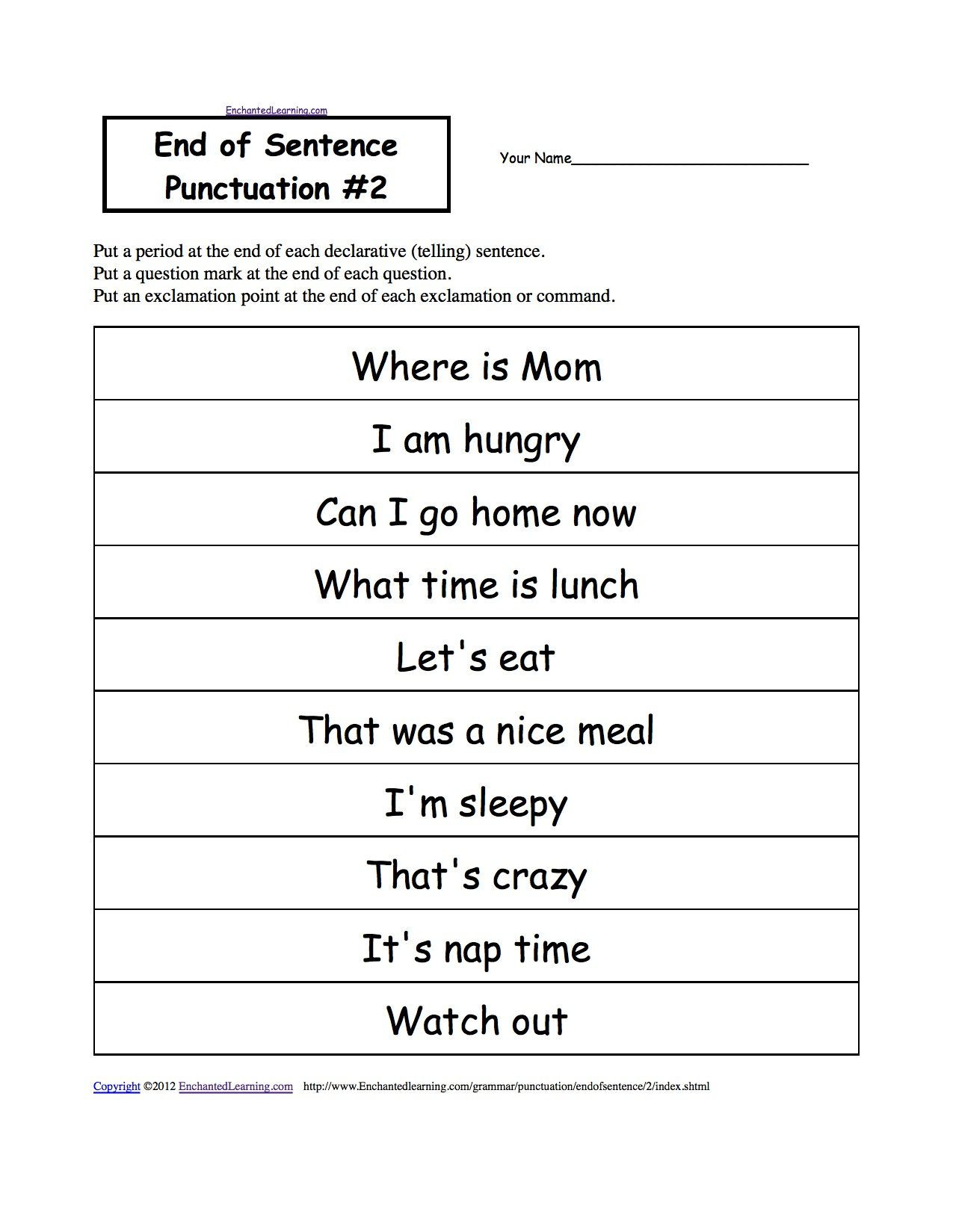 Proofreading Worksheets 3rd Grade Punctuation Practice Worksheets 3rd Grade