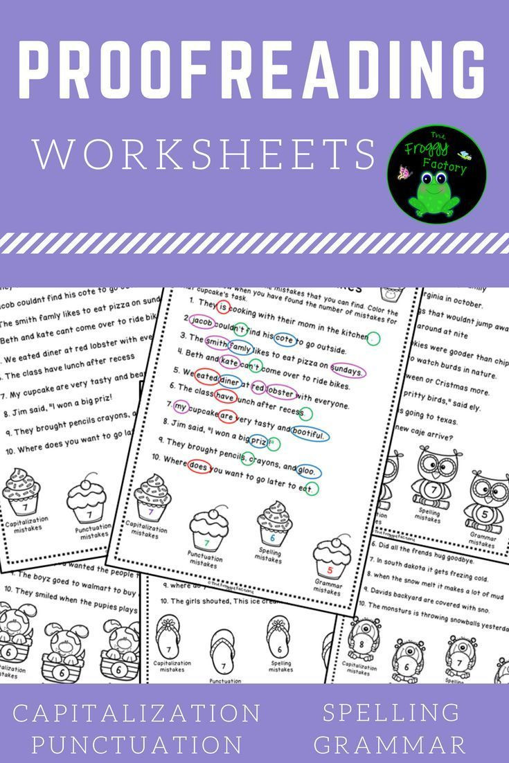 Proofreading Worksheets 5th Grade Proofreading Worksheets Editing Practice