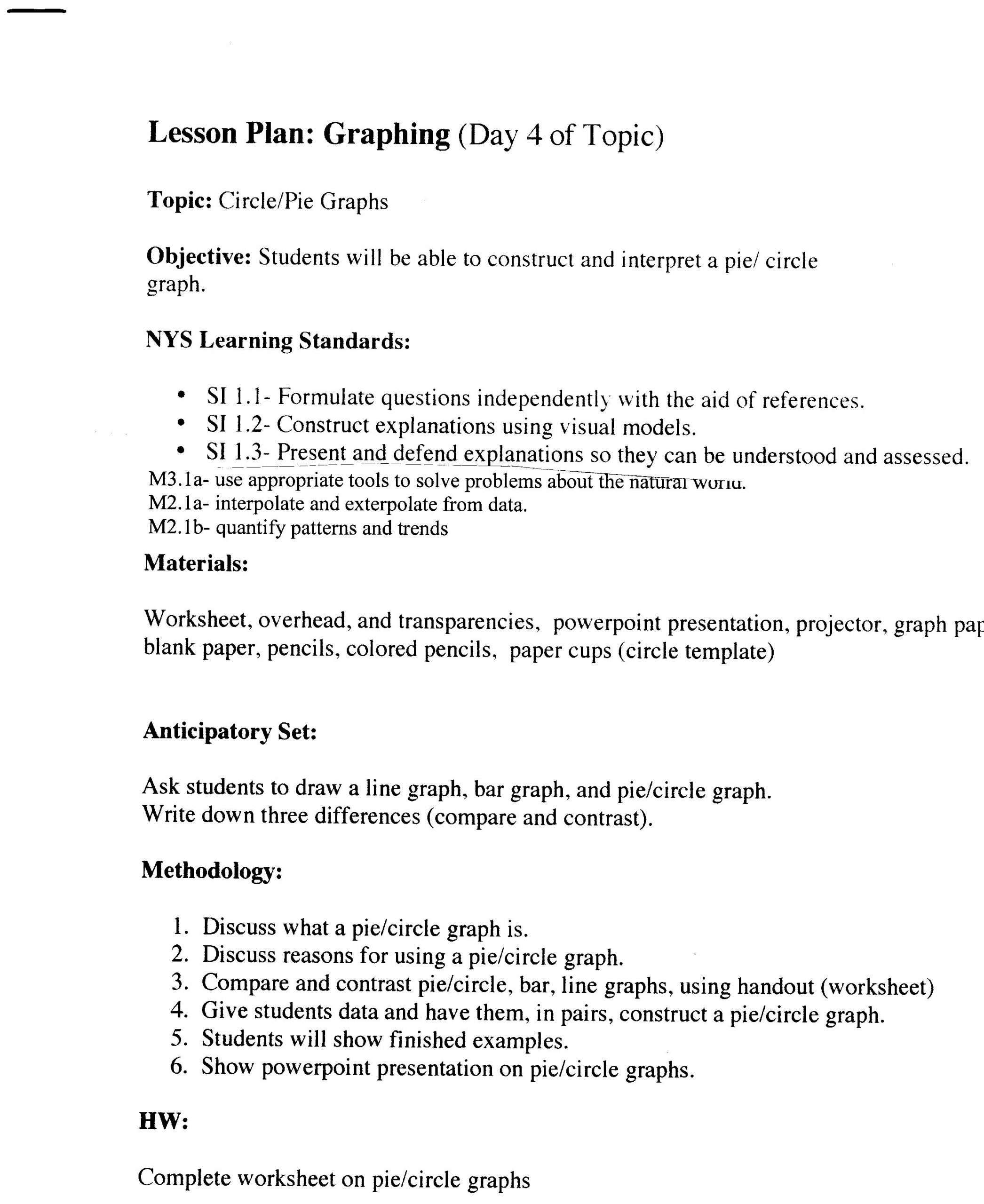 Reading Graphs Worksheets Middle School New Graph Worksheet Graphing and Intro to Science Answers