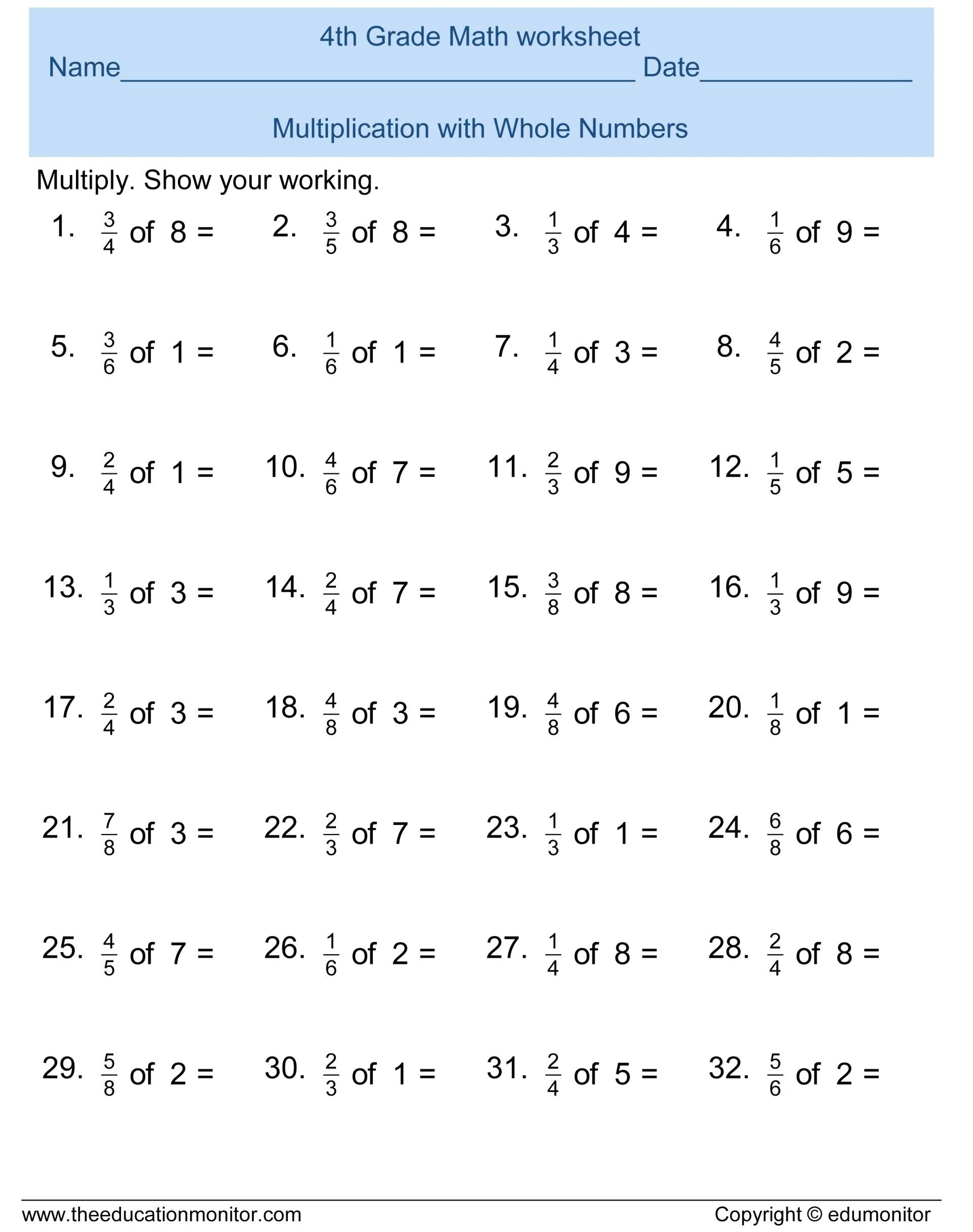Rocket Math Division Worksheets Math Sheets Multiplication Ideas Collection Printable Grade