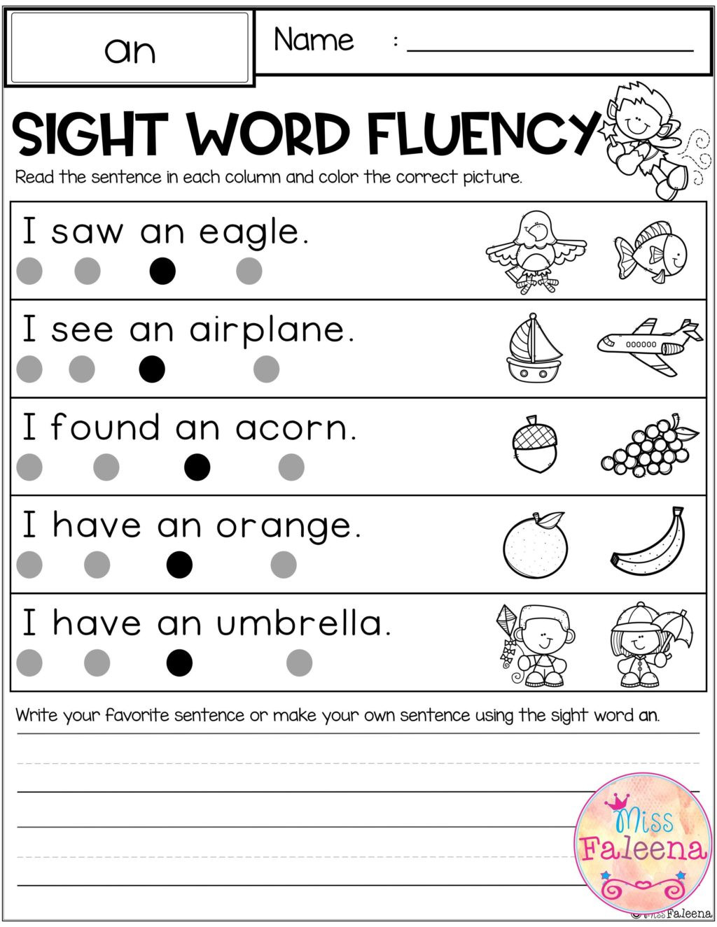 Scrambled Sentences Worksheets 3rd Grade Worksheet First Grade Reading Sentences Sight Word Fluency