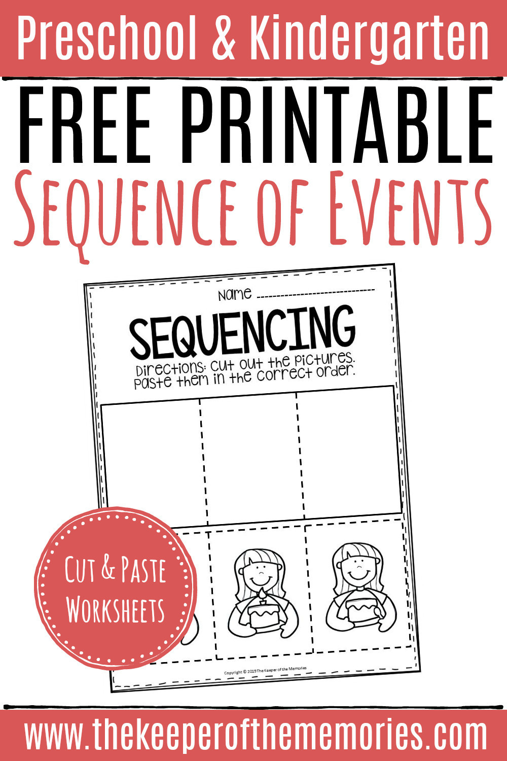 Sequencing Worksheets for Middle School 20 Sequencing Worksheet for Kindergarten