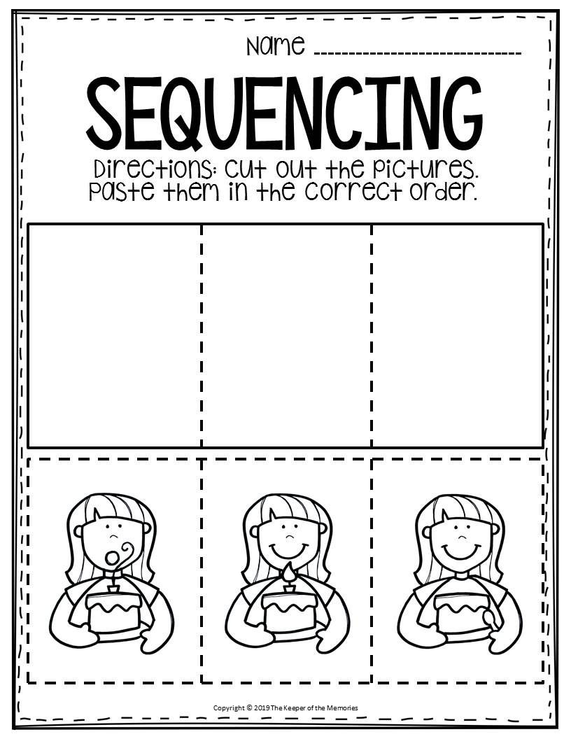 Sequencing Worksheets for Middle School Free Printable Sequence Of events Worksheets