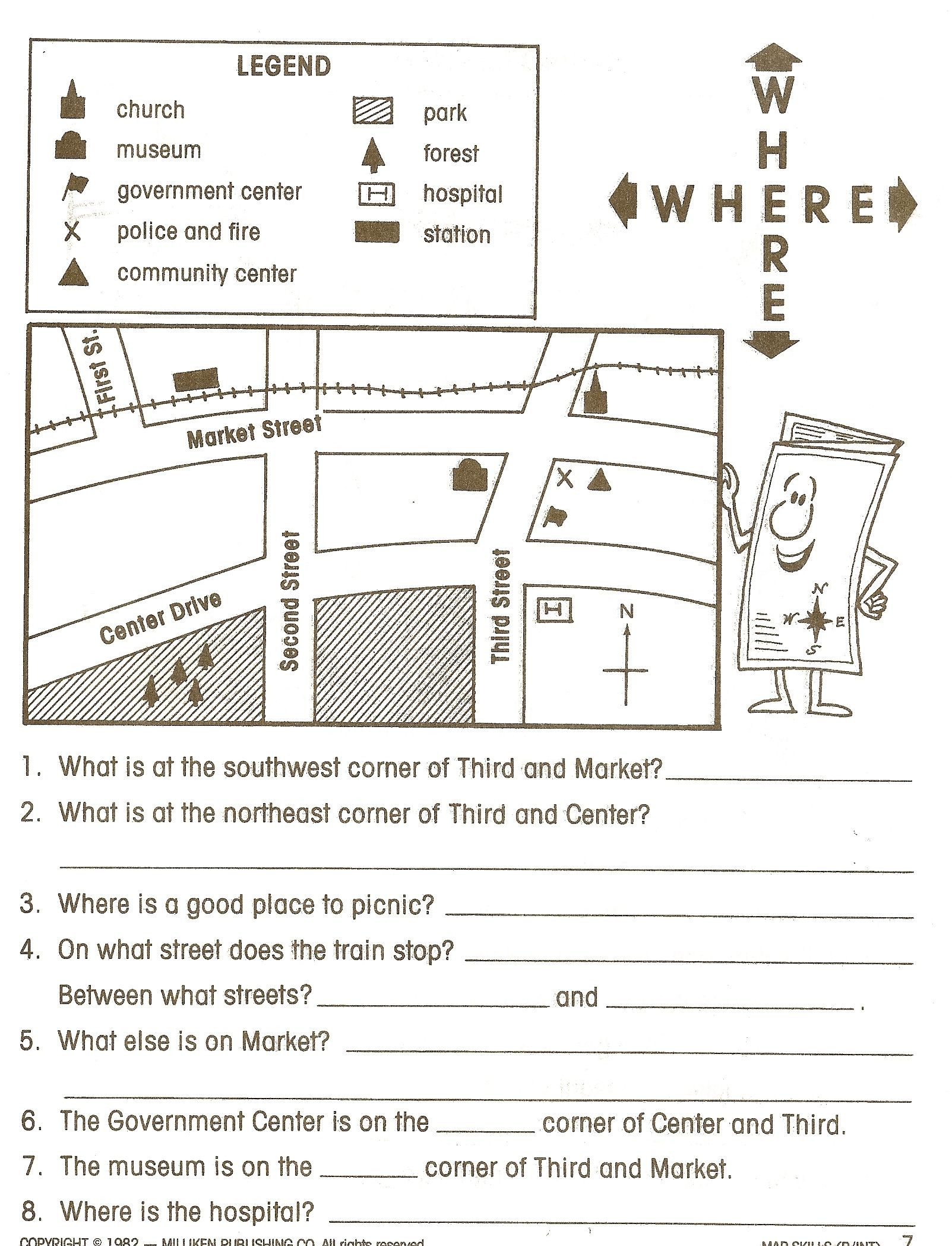 Social Studies Worksheet 3rd Grade social Stu S Worksheets Google Search