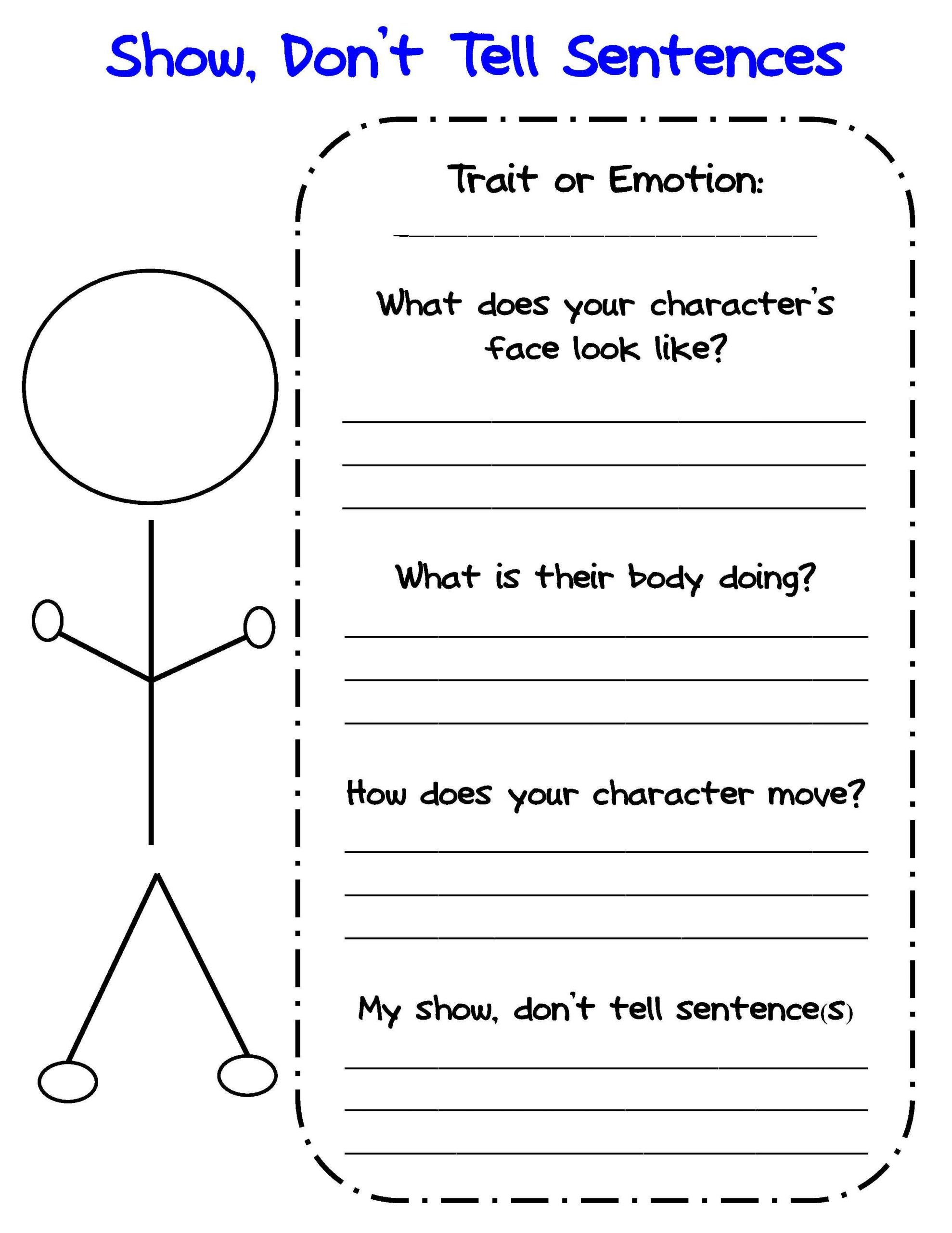 Story Elements Worksheet 2nd Grade Graphic organizers for Personal Narratives