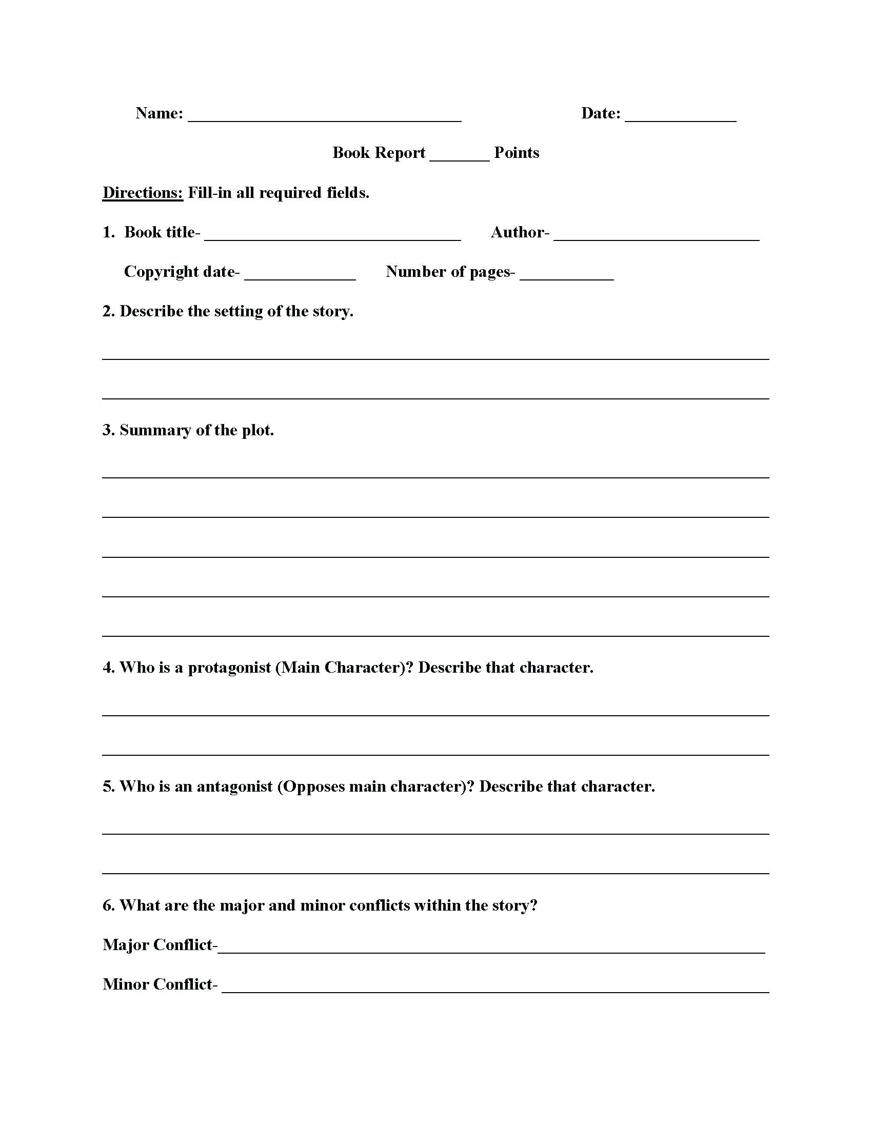 Summary Worksheets 5th Grade Vocabulary Worksheets for Middle School Worksheet Middle
