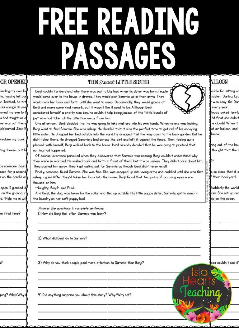 Text Evidence Worksheets 3rd Grade Third Grade Reading Prehension Passages and Questions