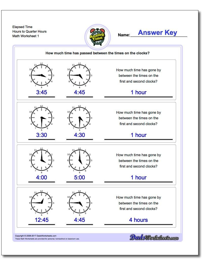 Third Grade Math Minutes Pdf Printable Pdf Analog Elapsed Time Worksheets