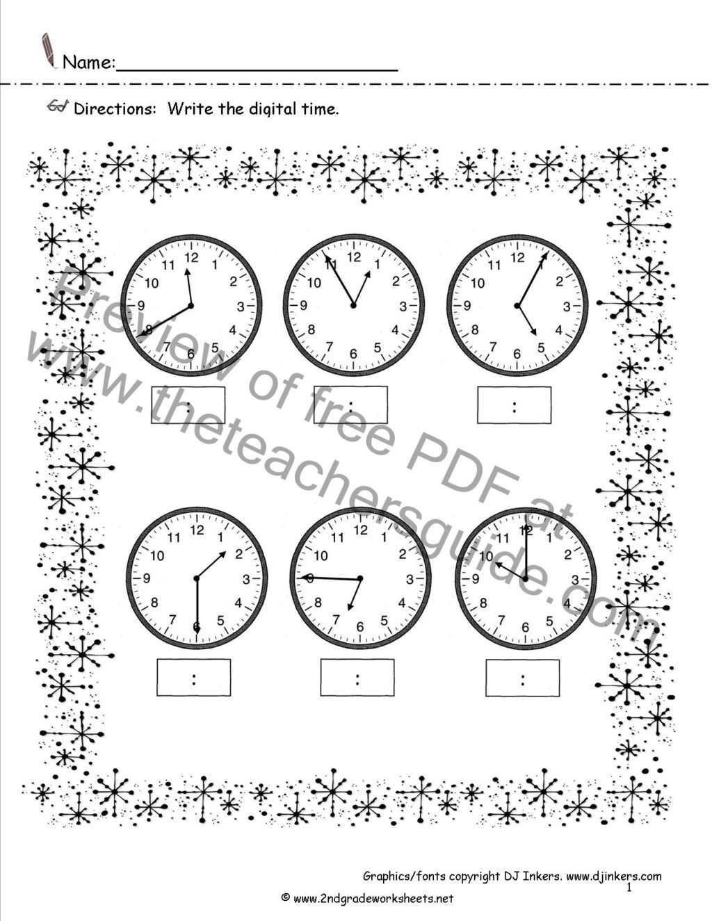 Third Grade Perimeter Worksheets Worksheet Printable Math Worksheets Letter Kindergarten