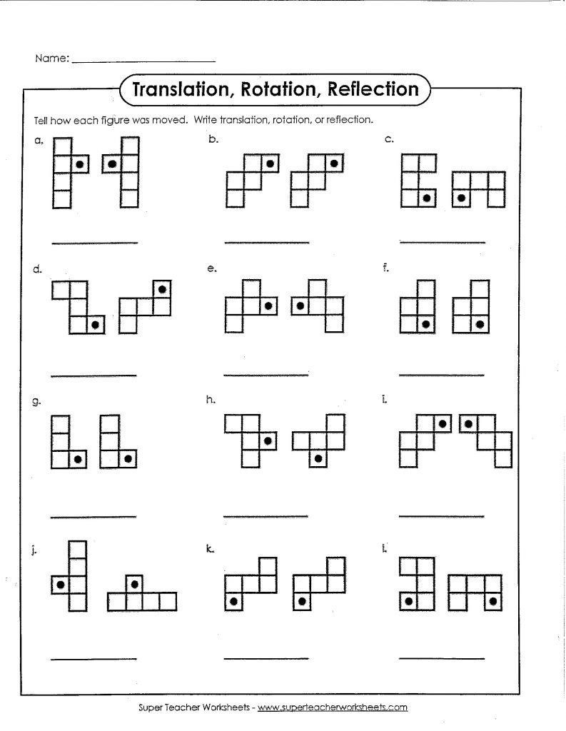 Translation Math Worksheets Pin On Free Printable Math Worksheets