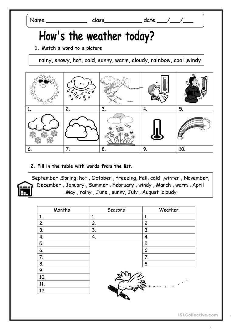 Weather Worksheets for 2nd Grade Weather Worksheets Skylikes Yahoo Image Search Results