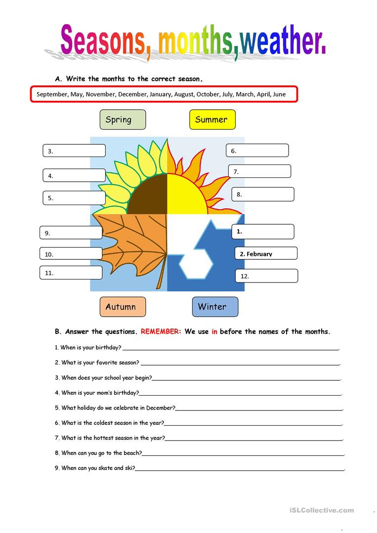 Weather Worksheets for Middle School English Esl Weather Worksheets Most Ed 540 Results
